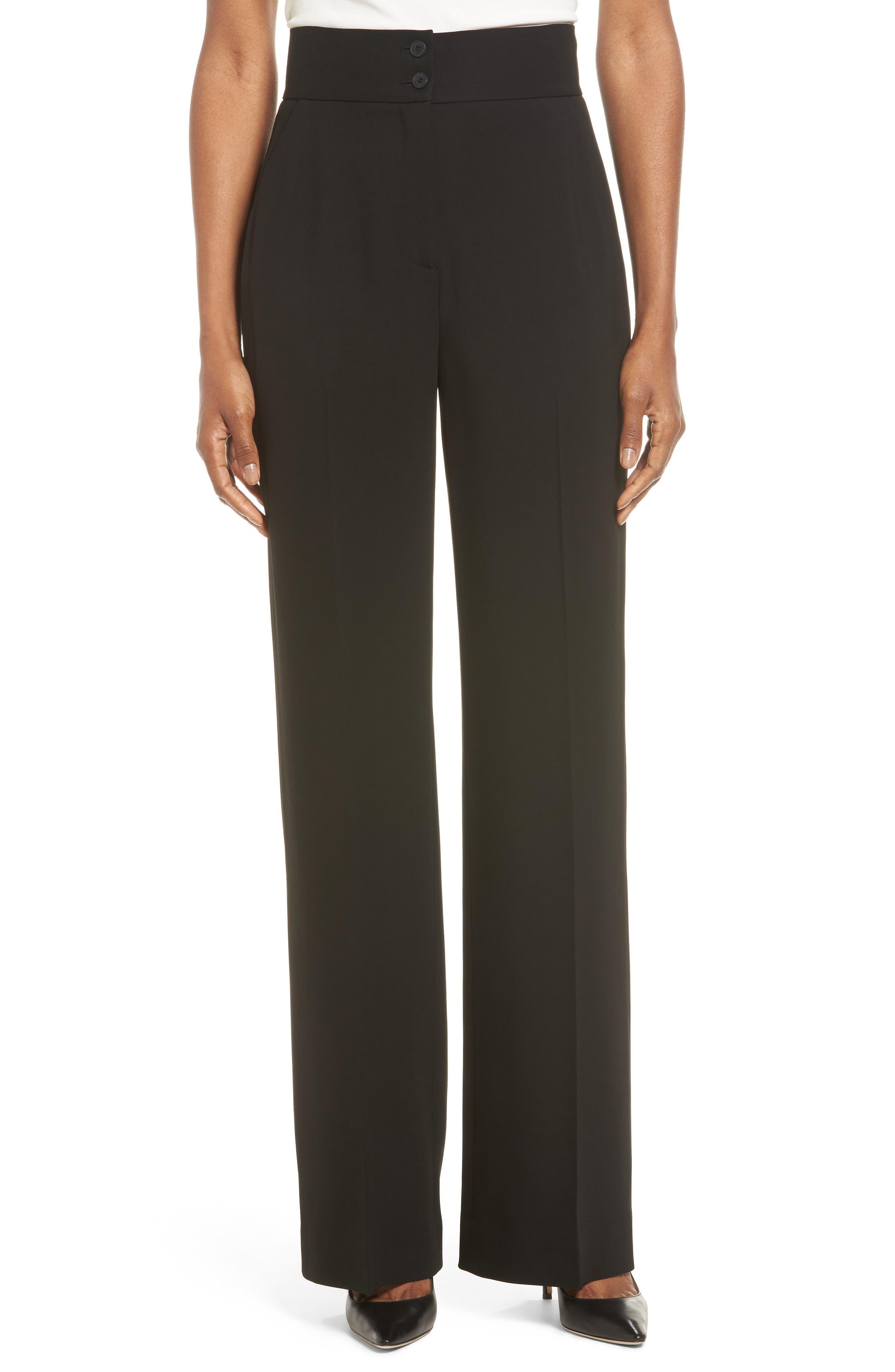 Classiques Entier® Wide Leg Suit Pants