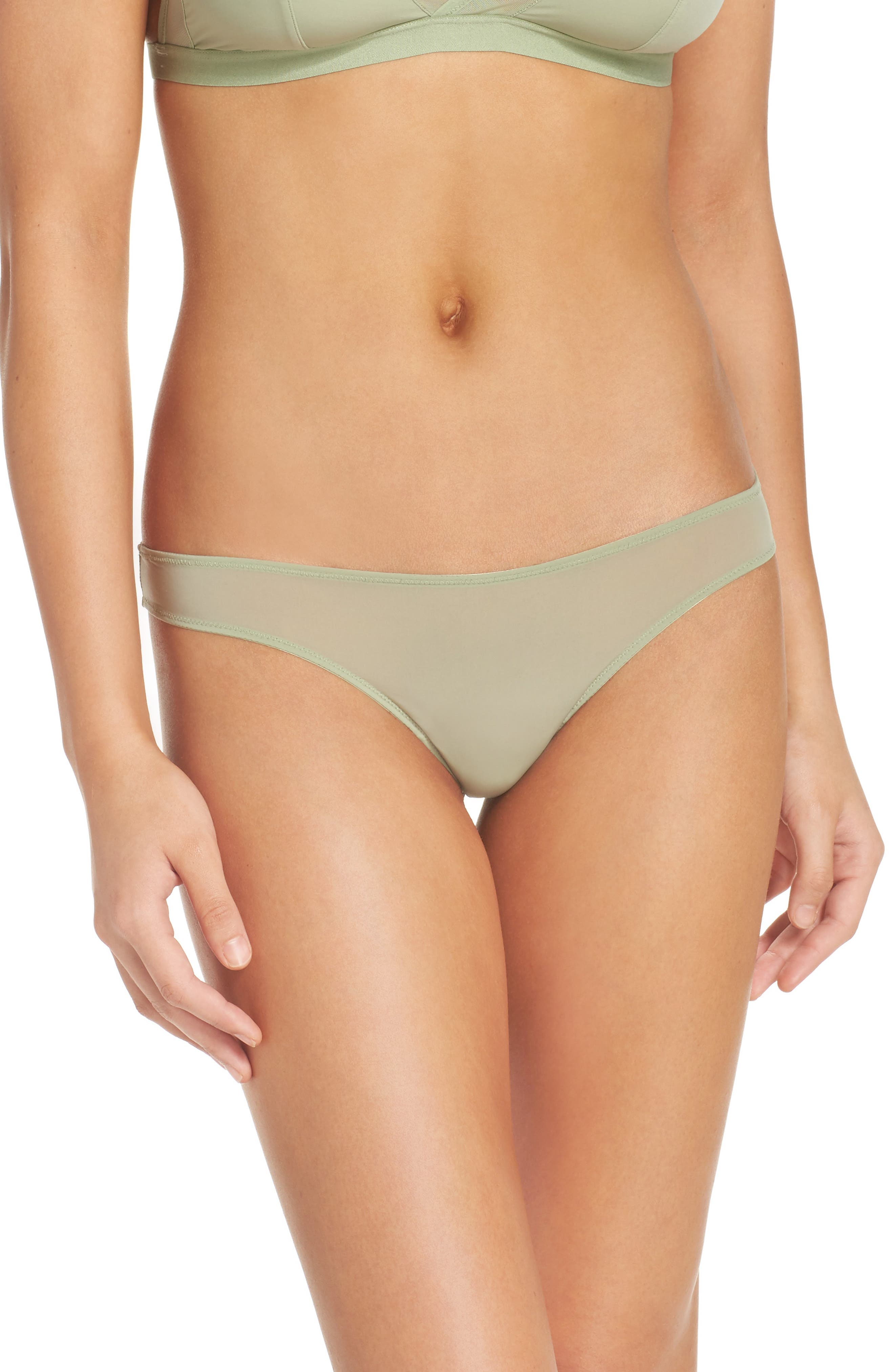 Madewell Skin Mesh Thong (4 for $30)