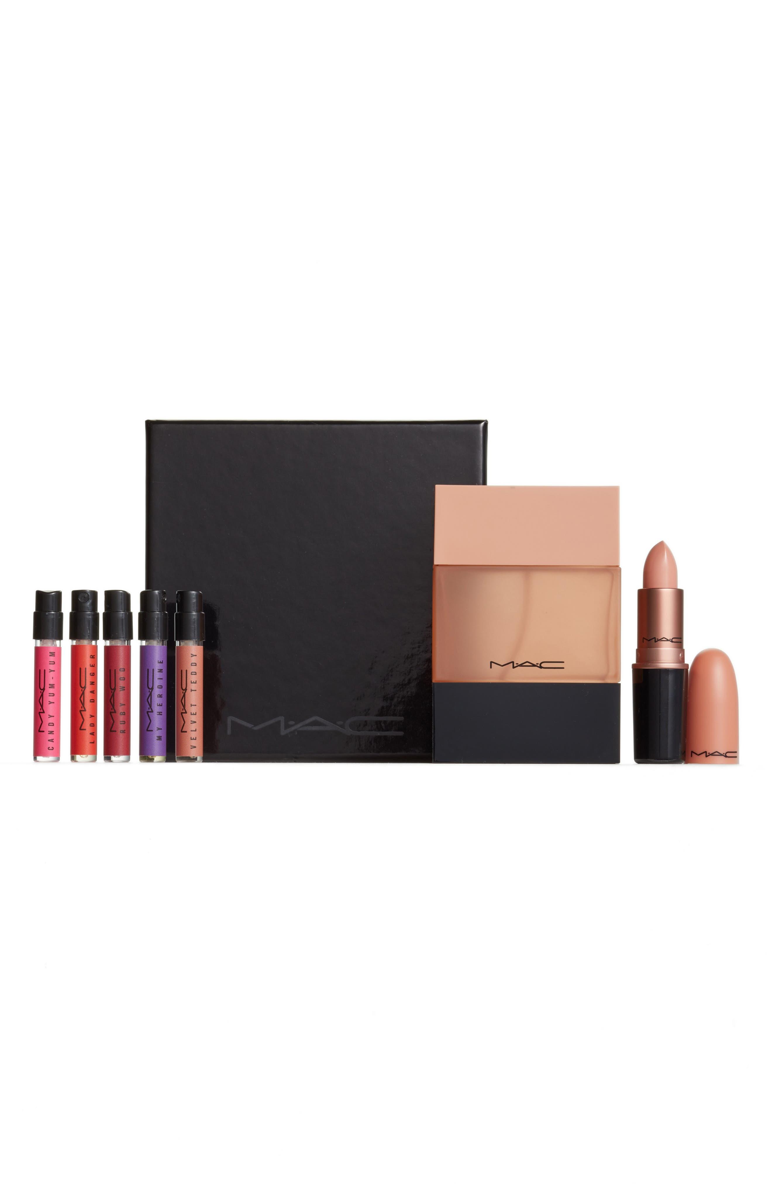 MAC Crème D'Nude Lipstick & Shadescent Fragrance Set
