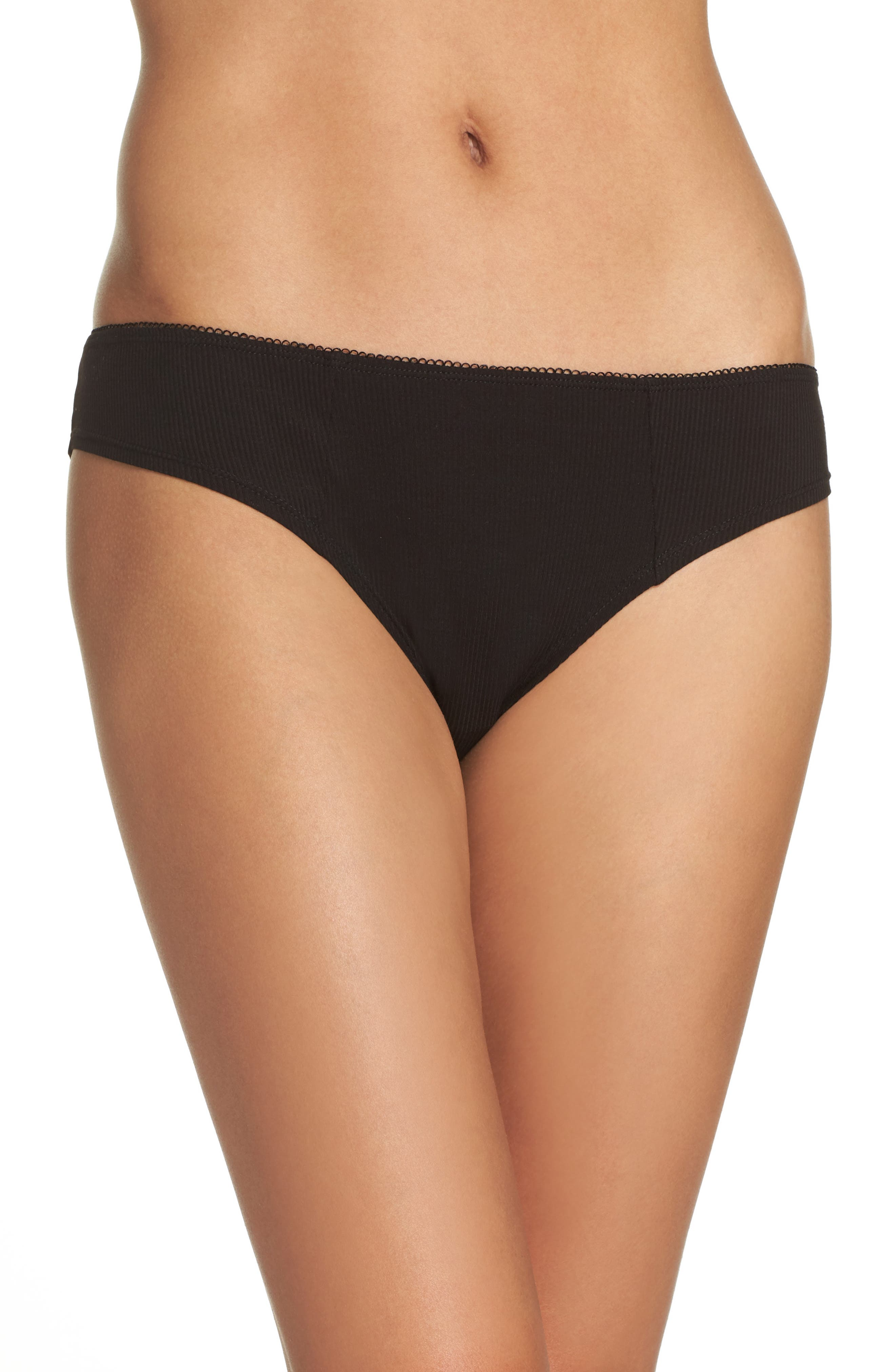 Honeydew Intimates Rib Knit Bikini (3 for $33)