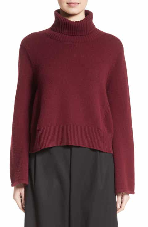Co Bell Sleeve Wool   Cashmere Sweater