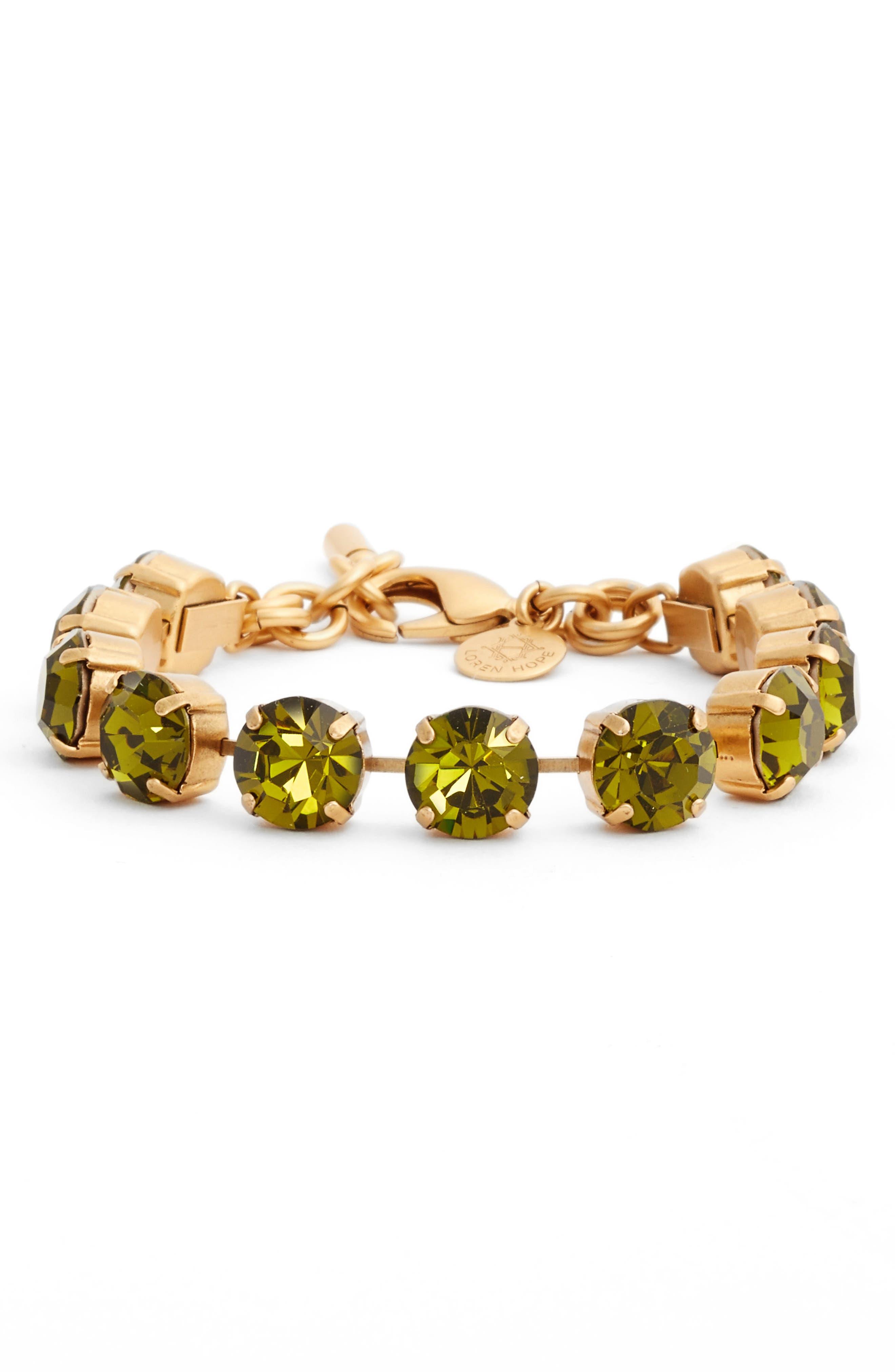 Loren Hope Kaylee Crystal Bracelet