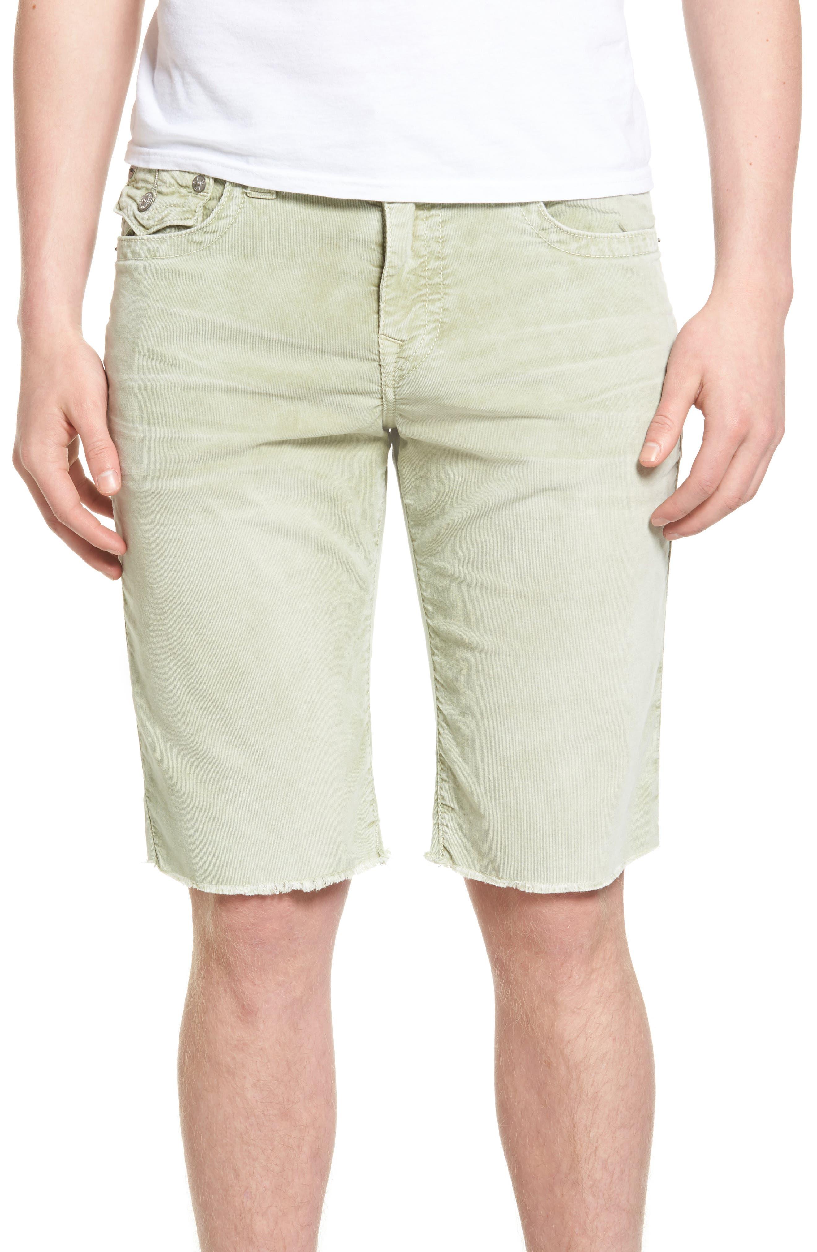 True Religion Brand Jeans Ricky Flap Corduroy Shorts (Regular & Big)