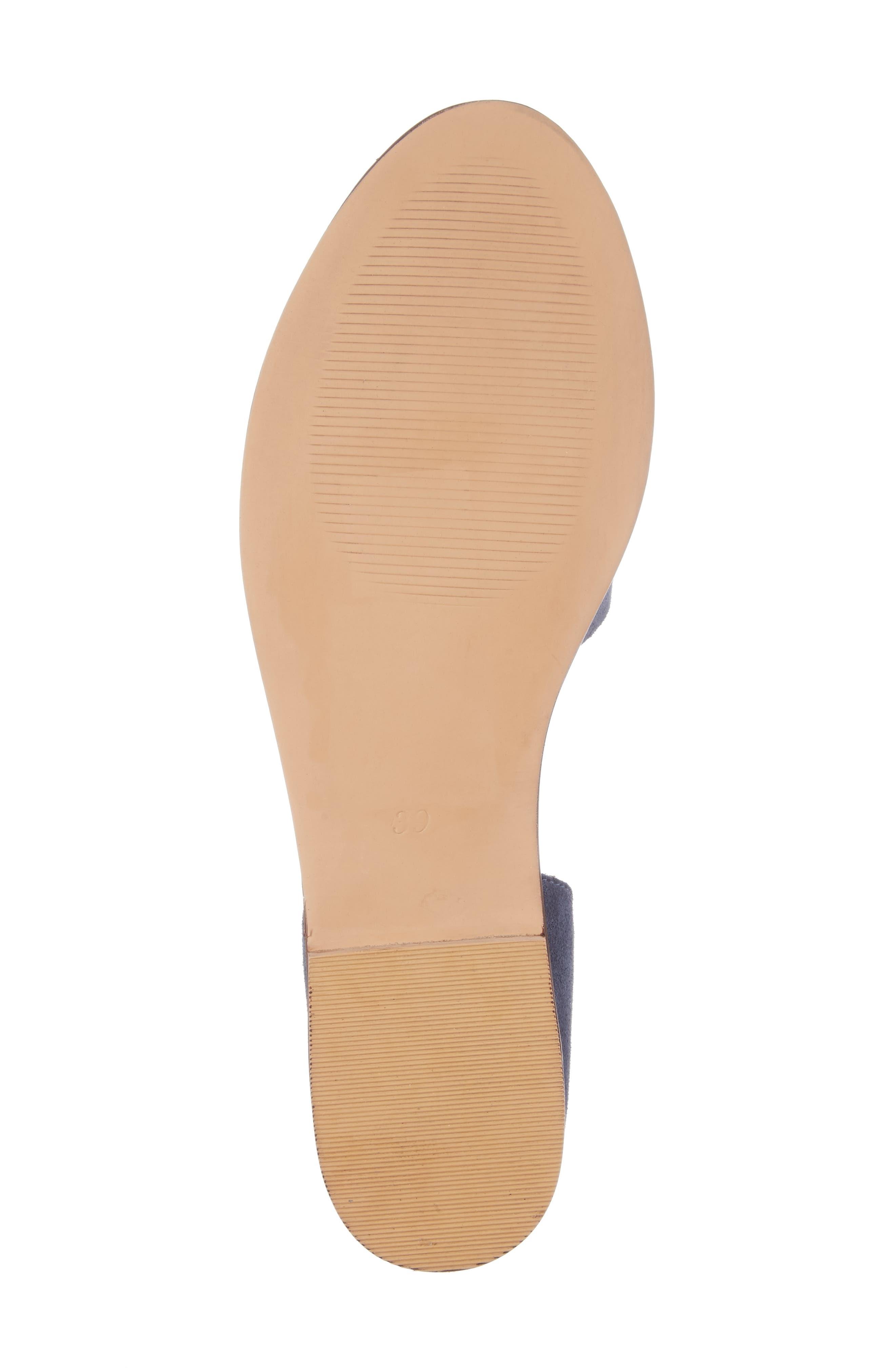 Alternate Image 6  - Topshop 'Once' Peep Toe Flat (Women)