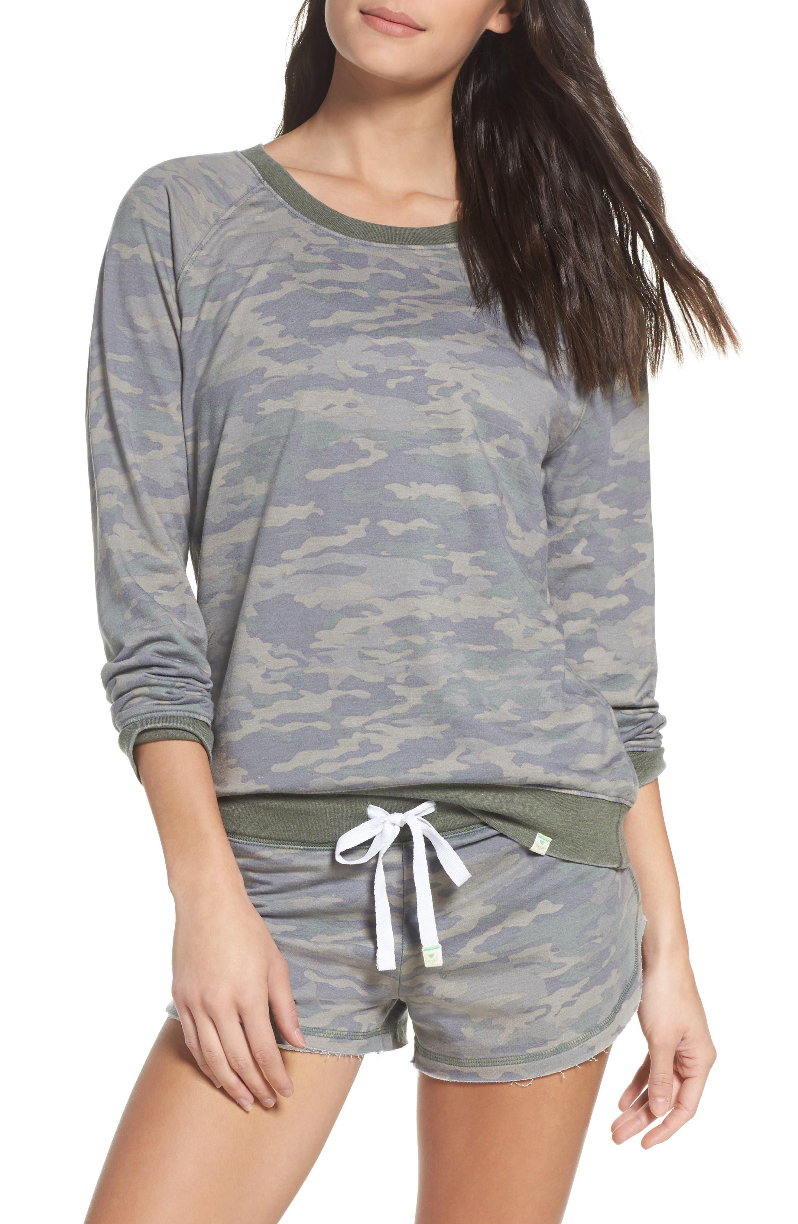 Honeydew Intimates Sweatshirt & Lounge Shorts