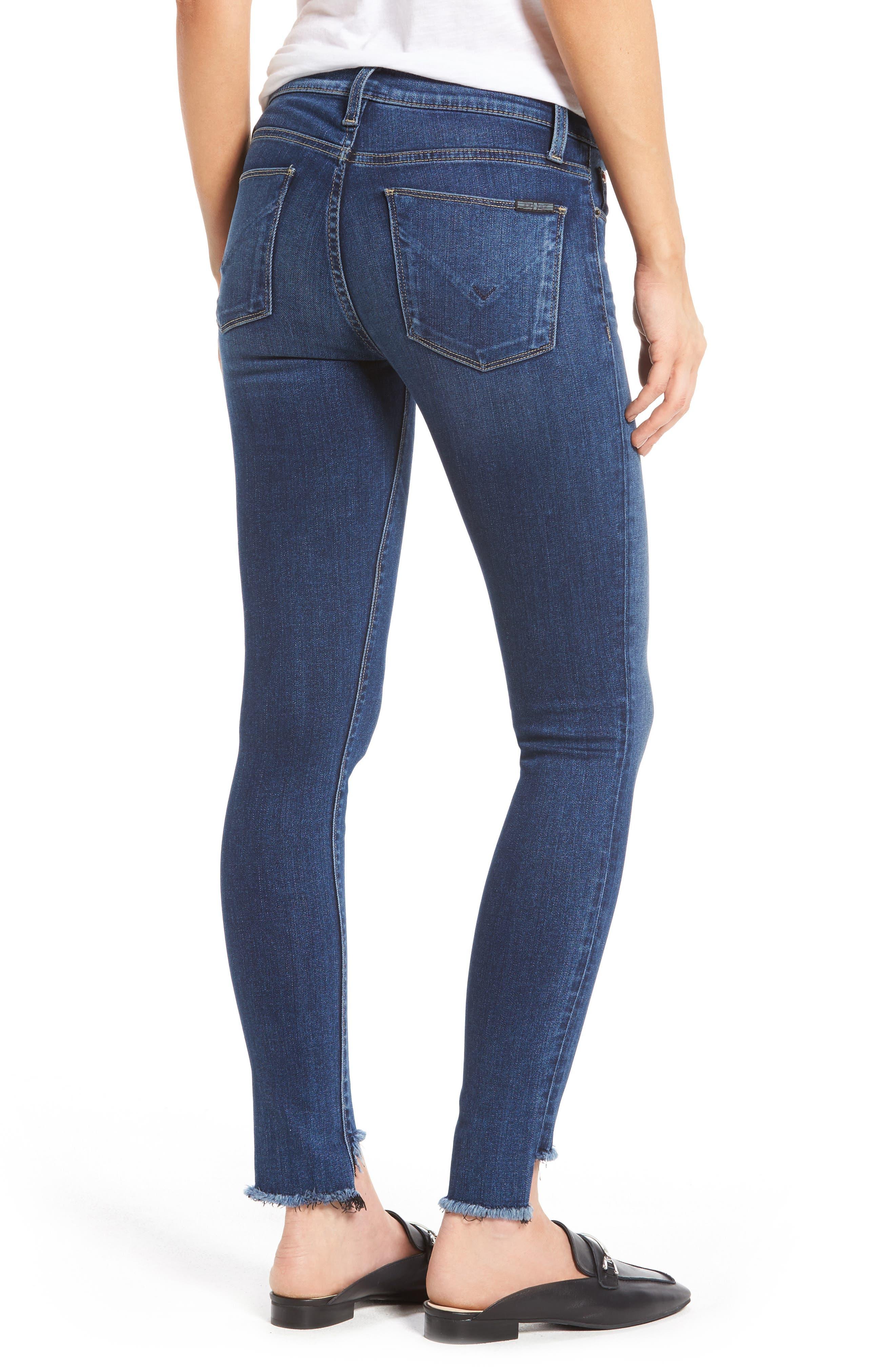 Alternate Image 2  - Hudson Jeans Colette Step Hem Skinny Jeans (Backbone)