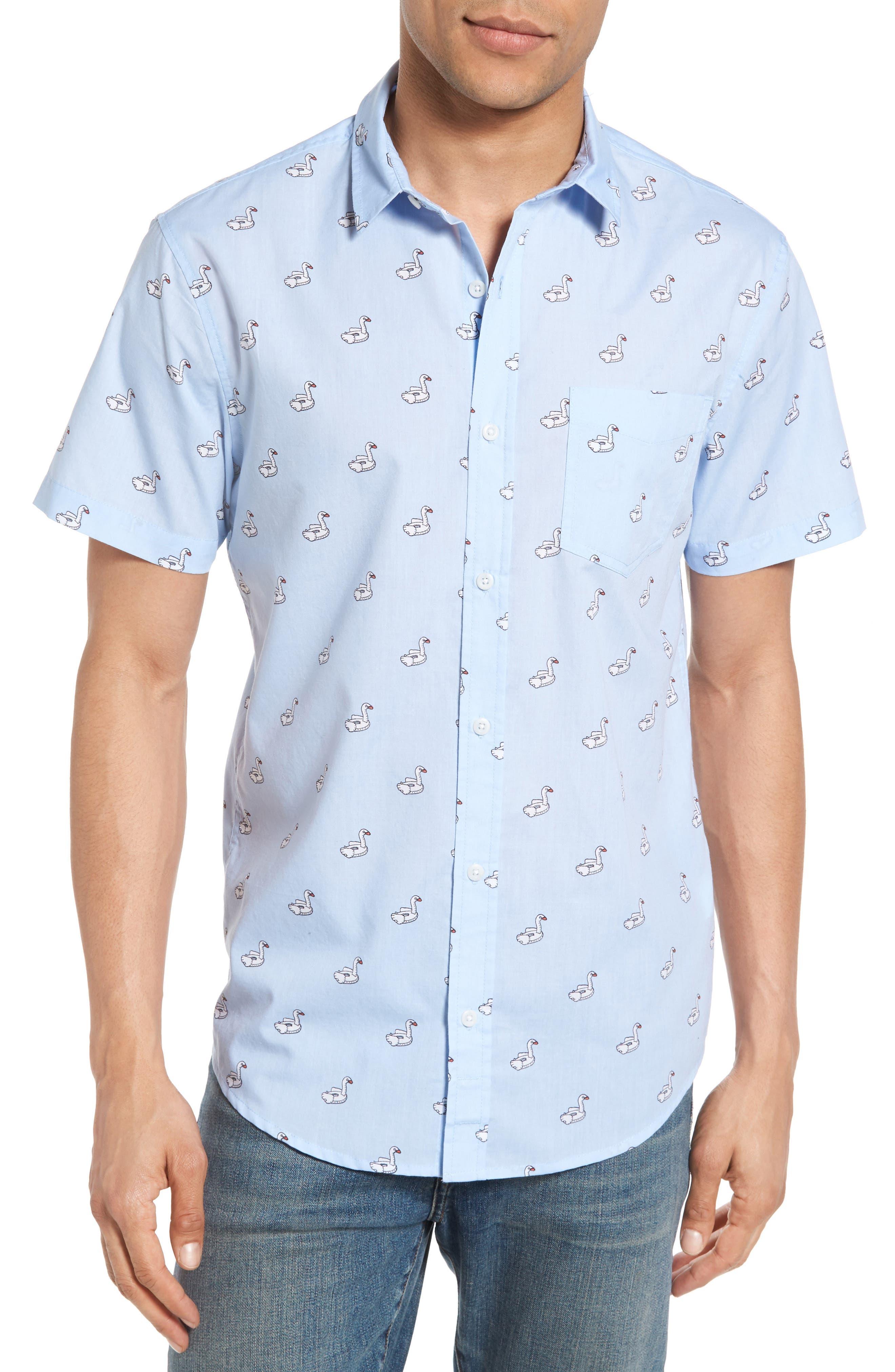 1901 Swan Floaties Woven Shirt