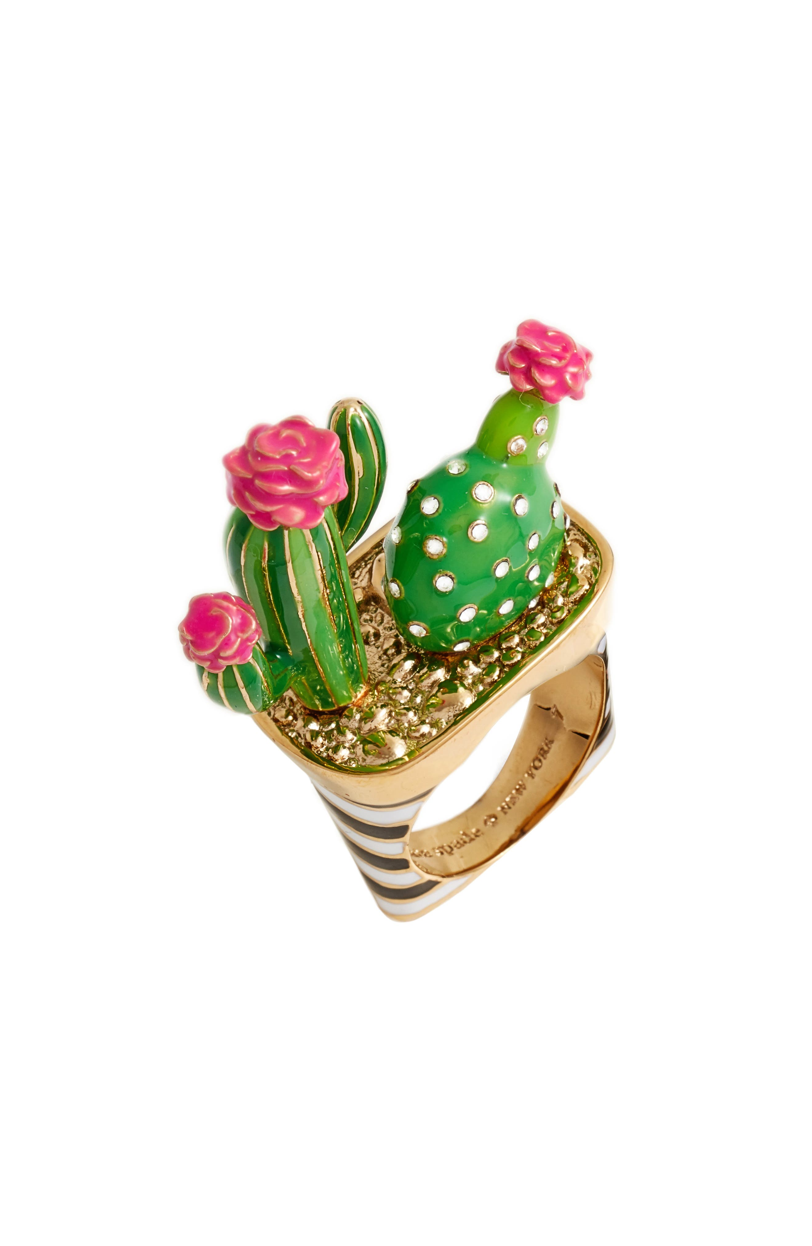 Alternate Image 1 Selected - kate spade new york scenic route cactus ring