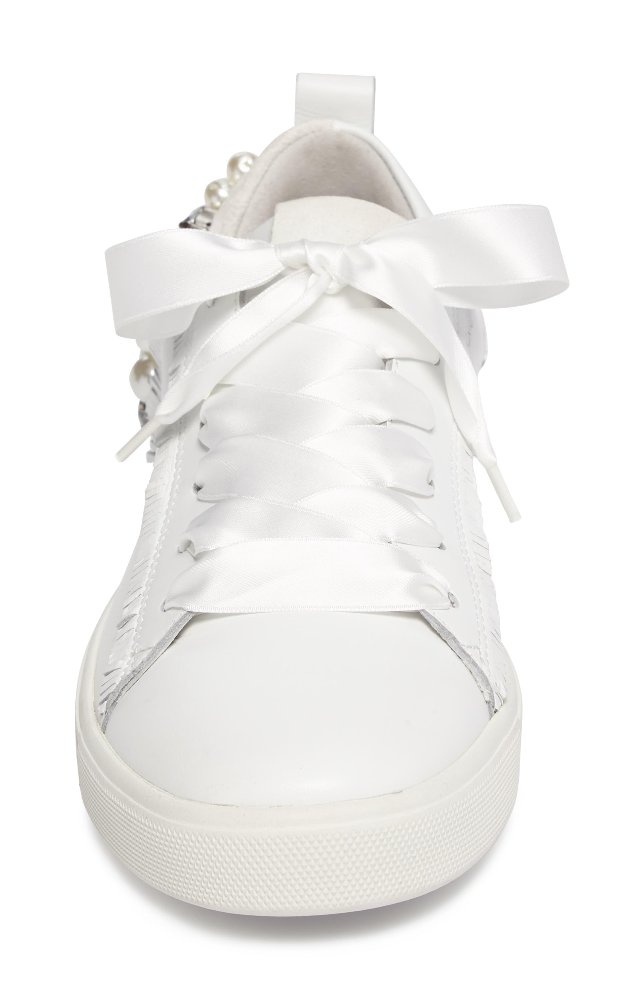 Alternate Image 4  - Kennel & Schmenger Town Flower Sneaker (Women)