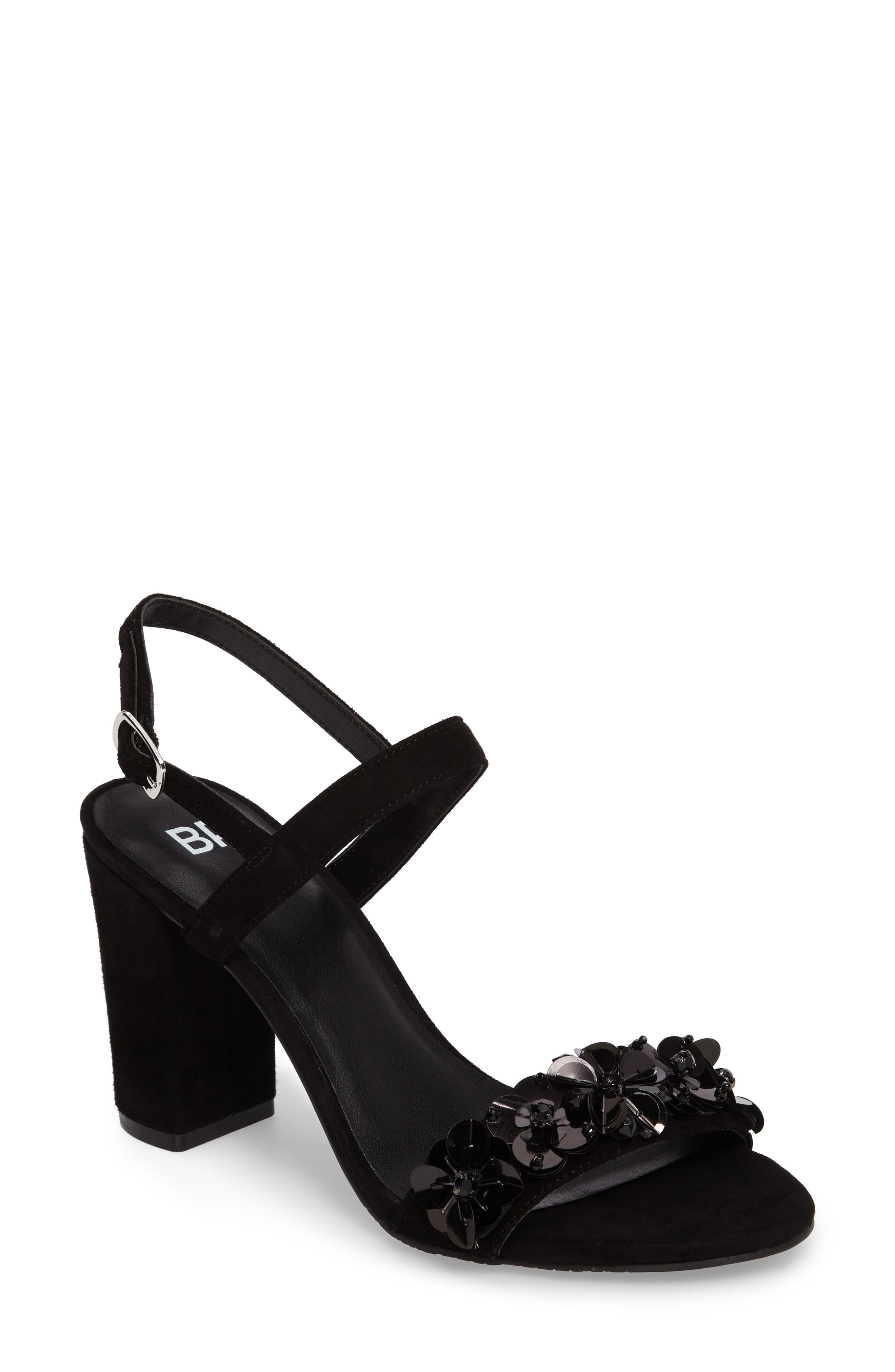 BP. Lula Block Heel Slingback Sandal