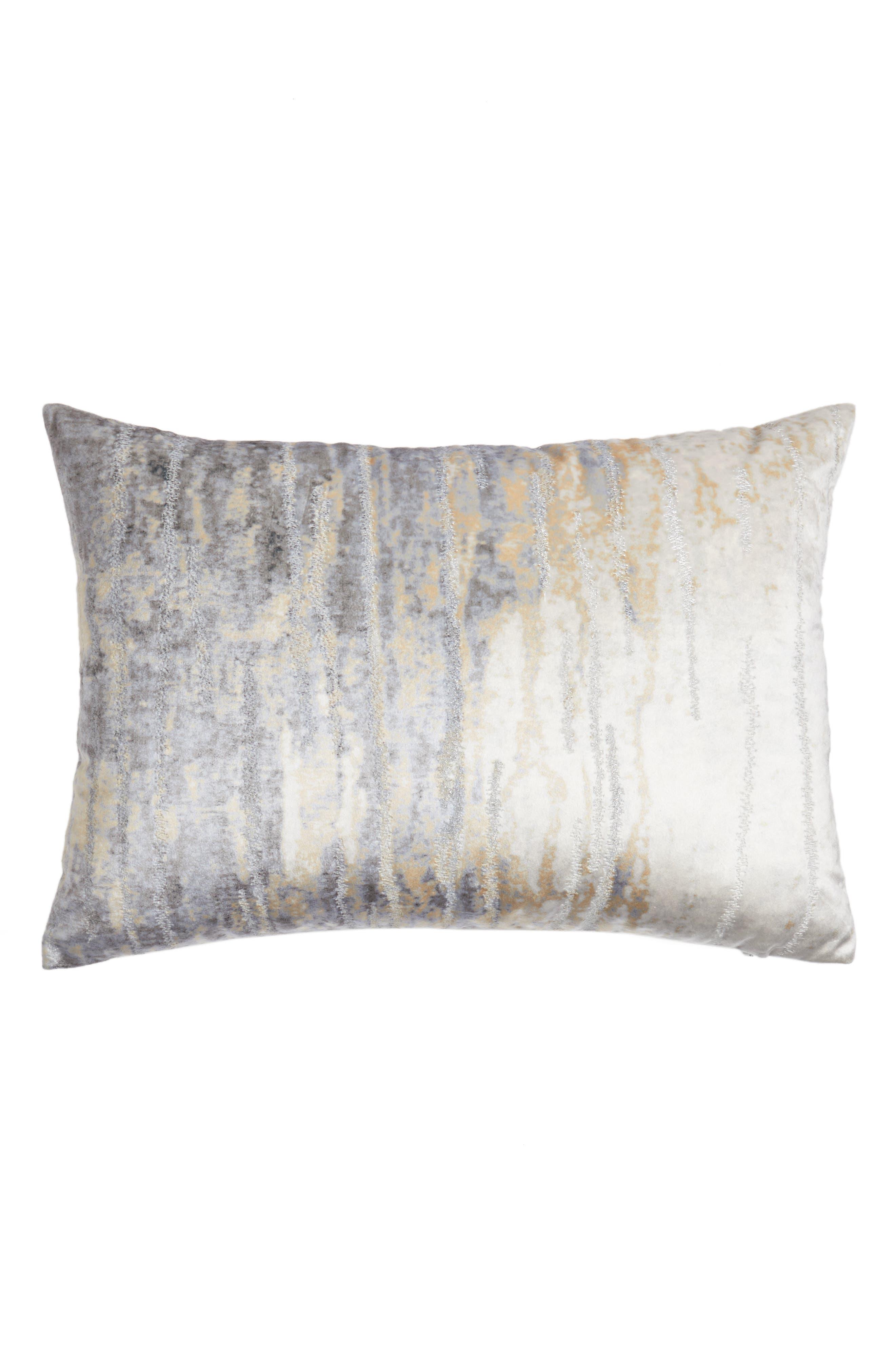 Cloud9 Designs Velvet Print Accent Pillow