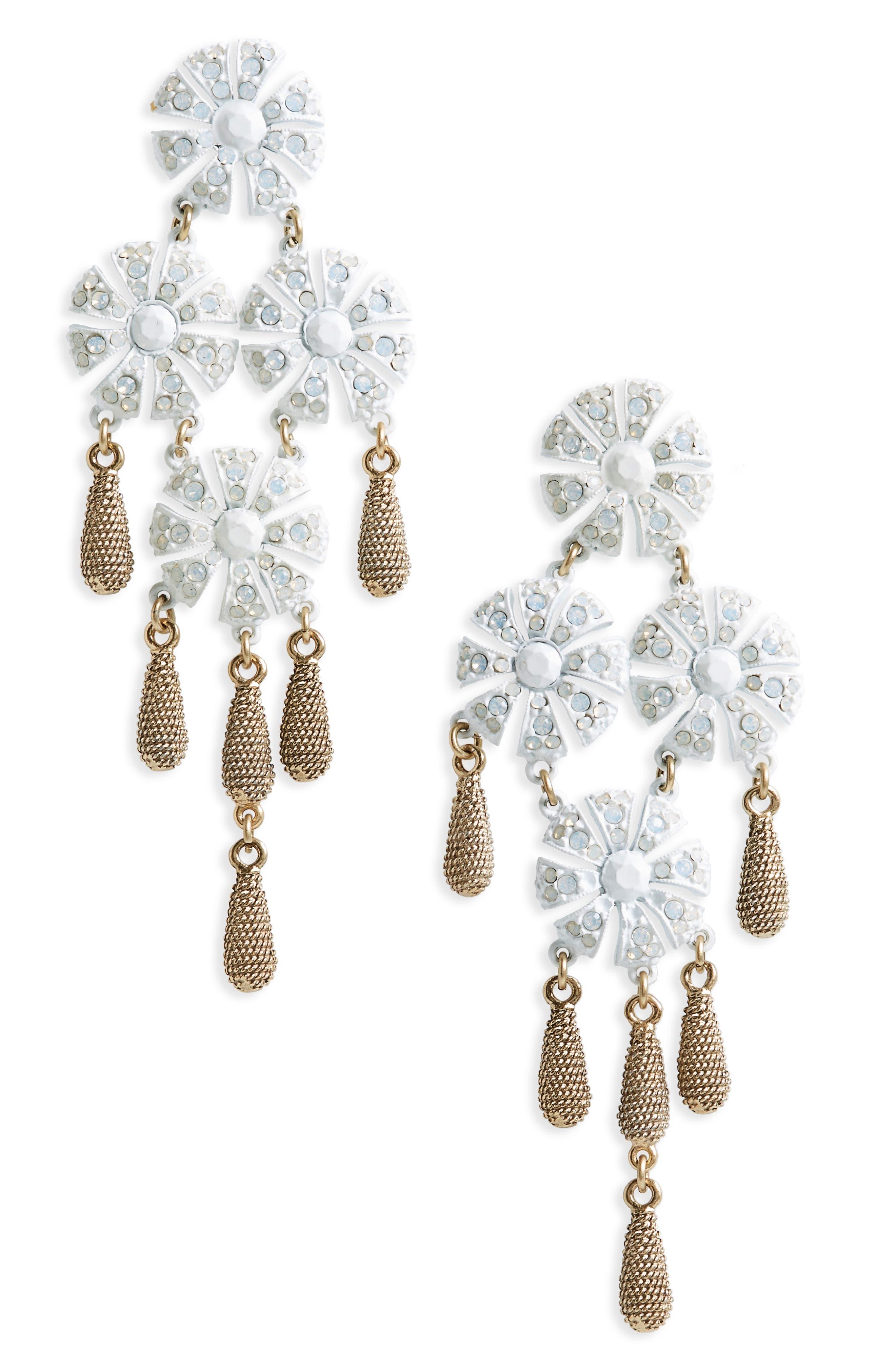 Loren Hope Jasmine Chandelier Earrings