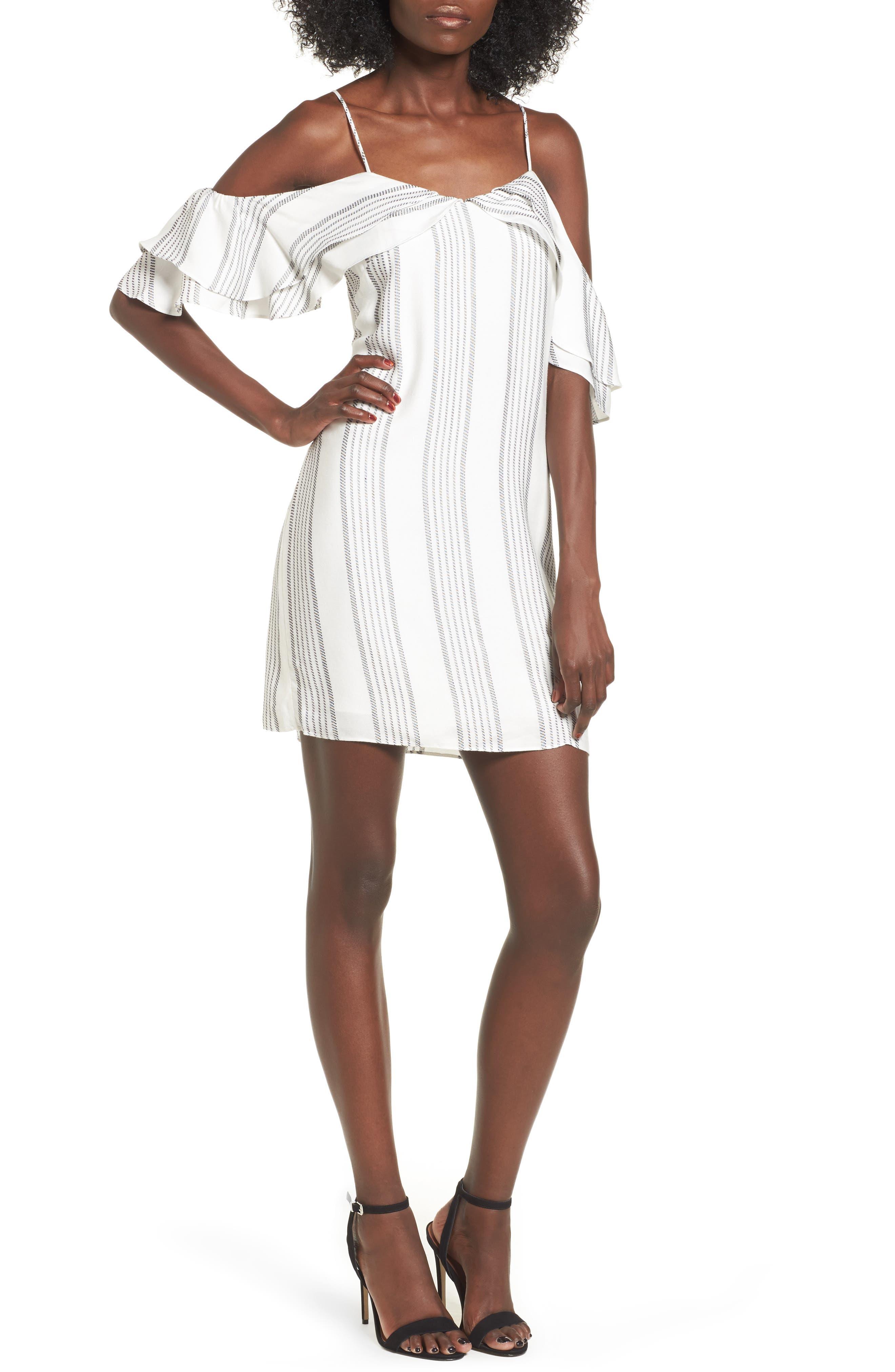 devlin Sydney Off the Shoulder Dress