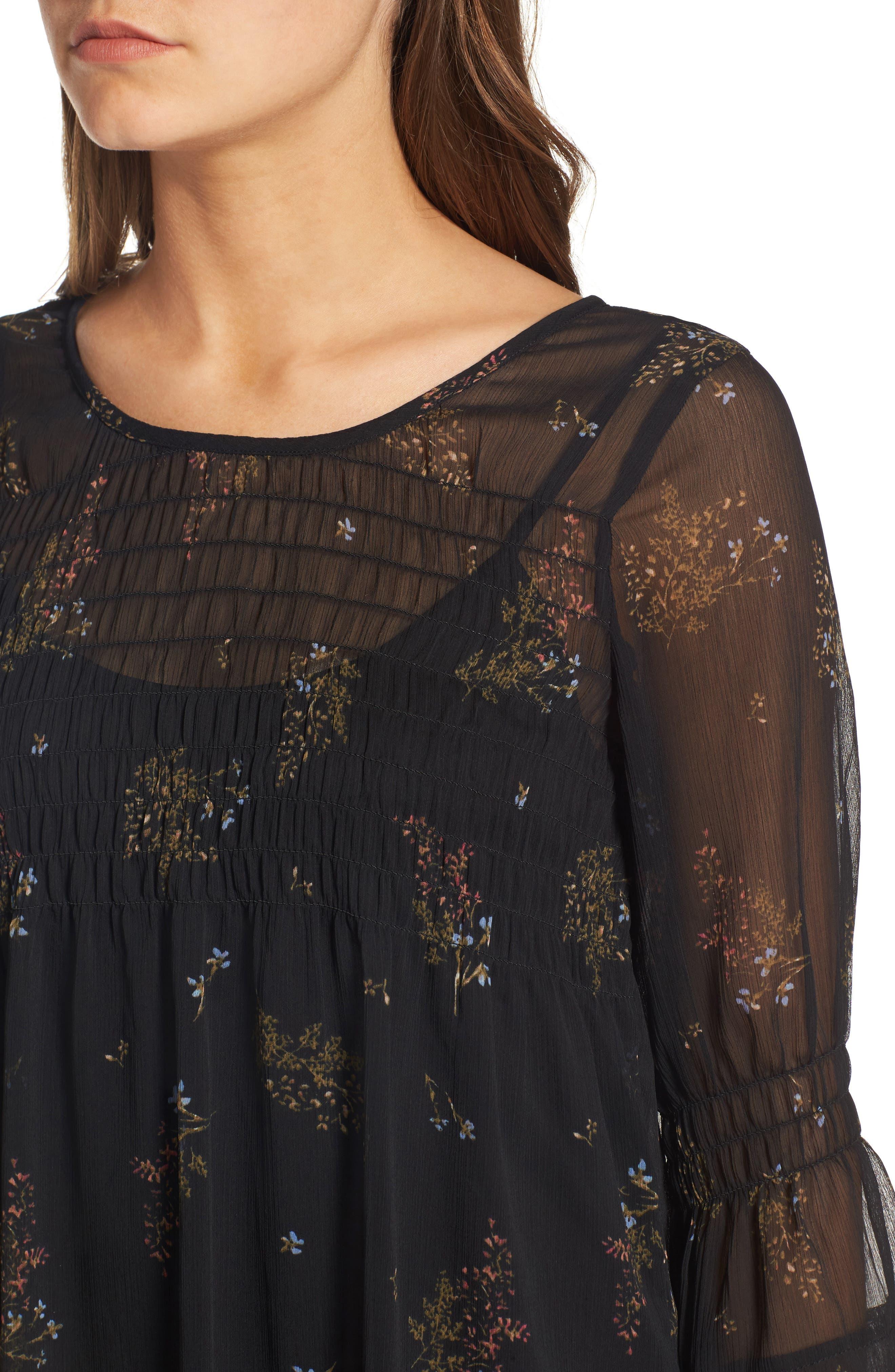 Alternate Image 4  - O'Neill Susannah Bell Sleeve Dress