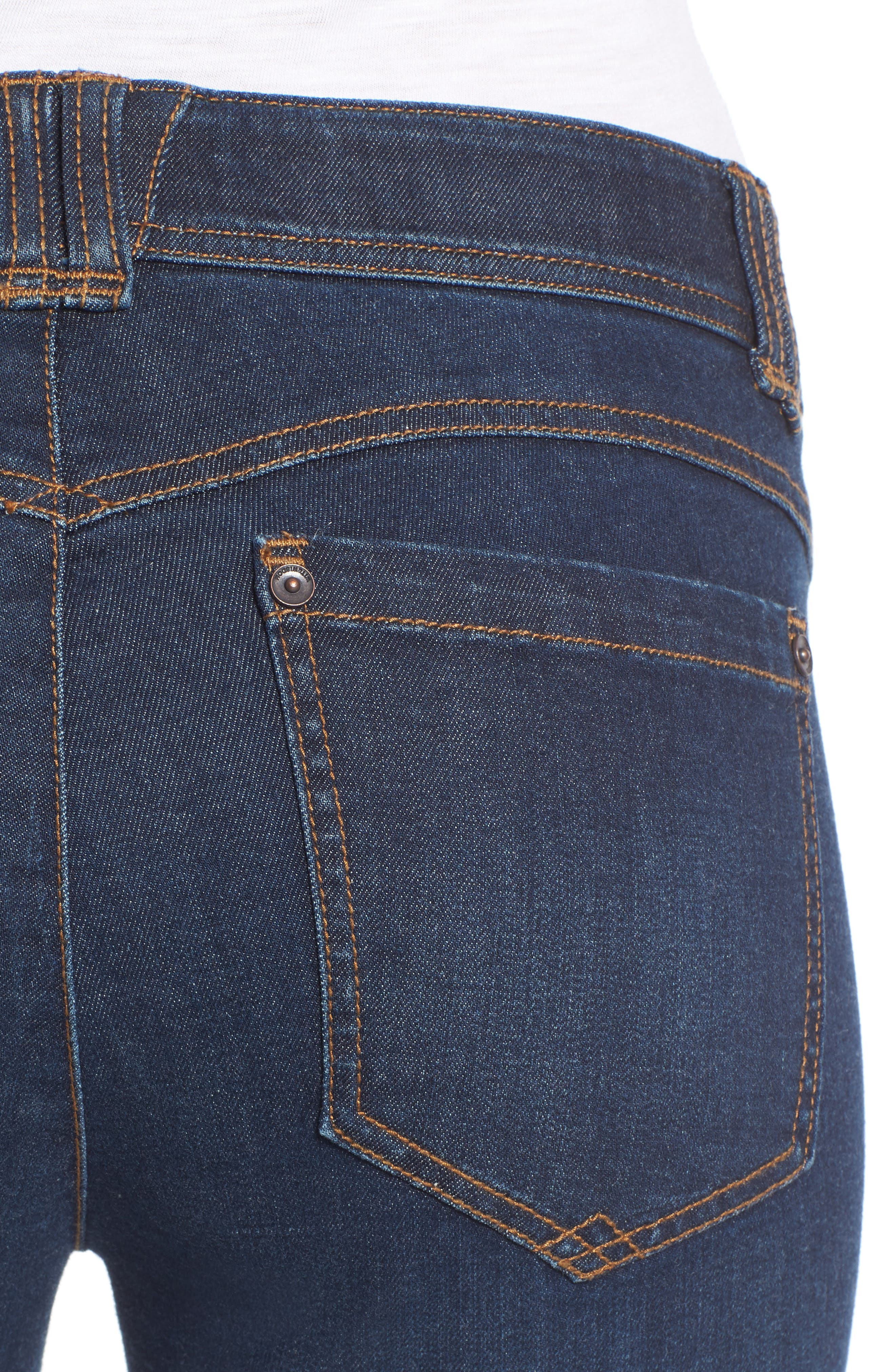 Alternate Image 5  - Wit & Wisdom Ab-solution Itty Bitty Bootcut Jeans (Regular & Petite) (Nordstrom Exclusive)