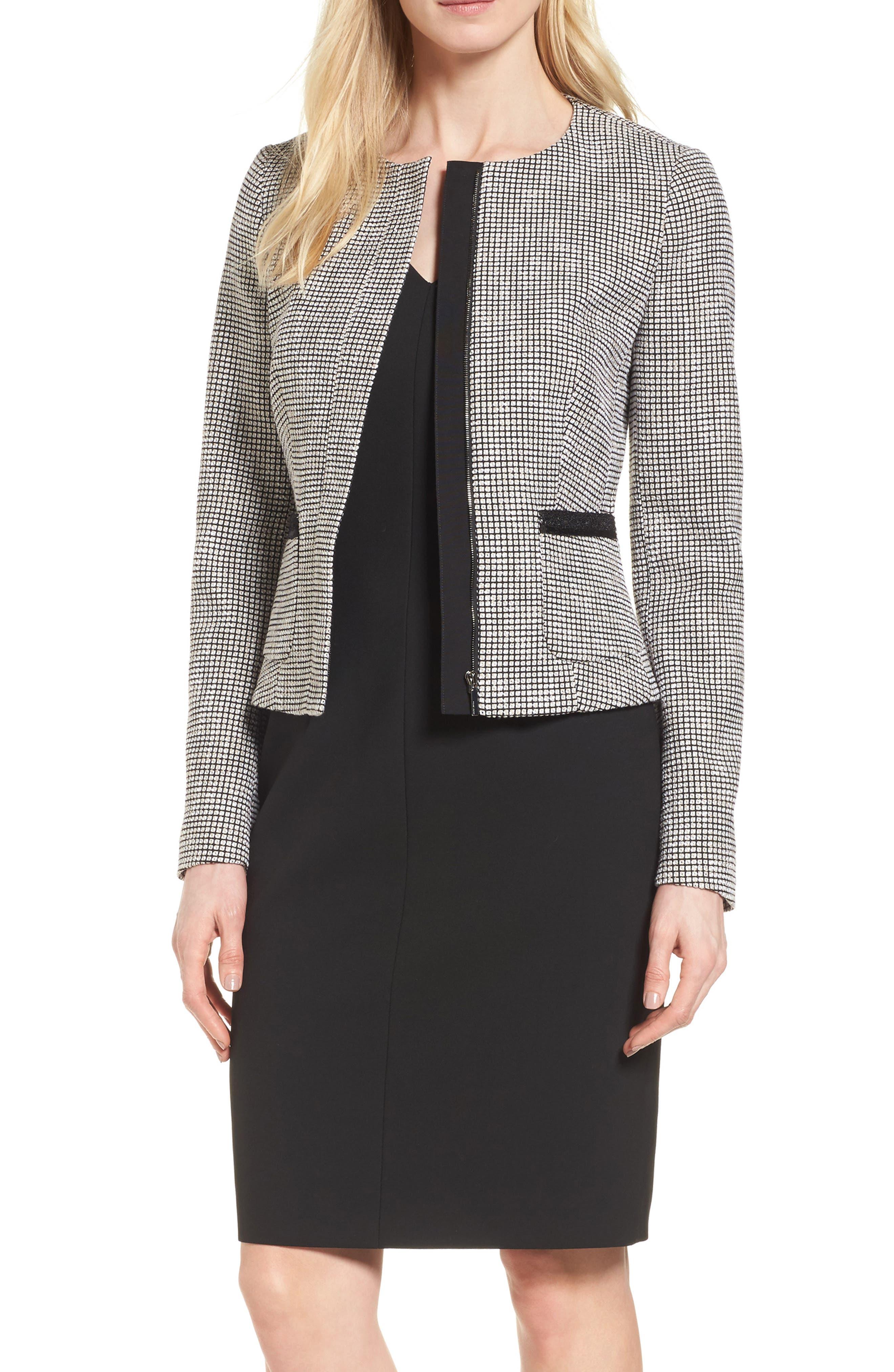 BOSS Kabira Tweed Jacket