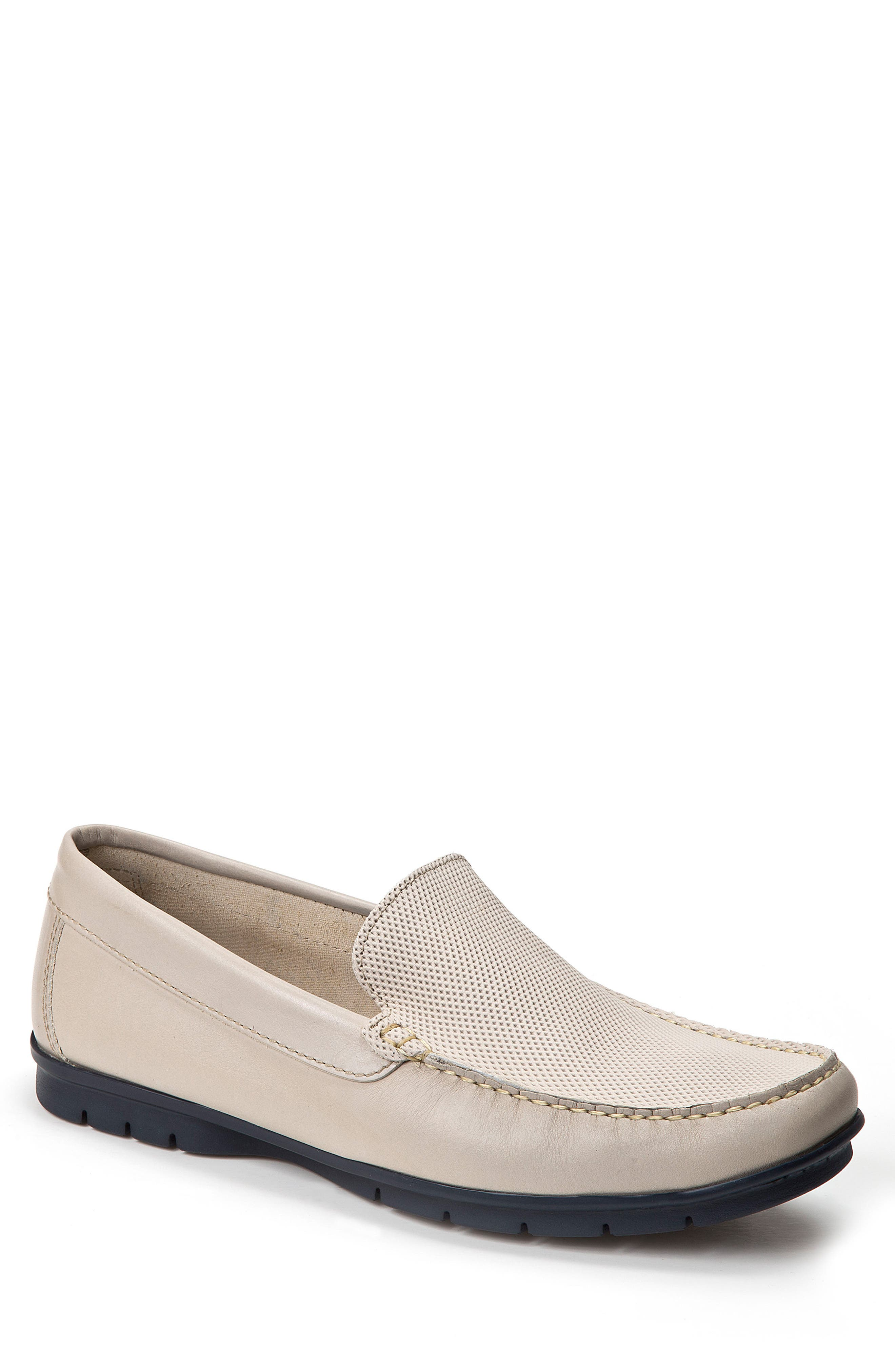 Sandro Moscoloni Diamond Embossed Loafer (Men)