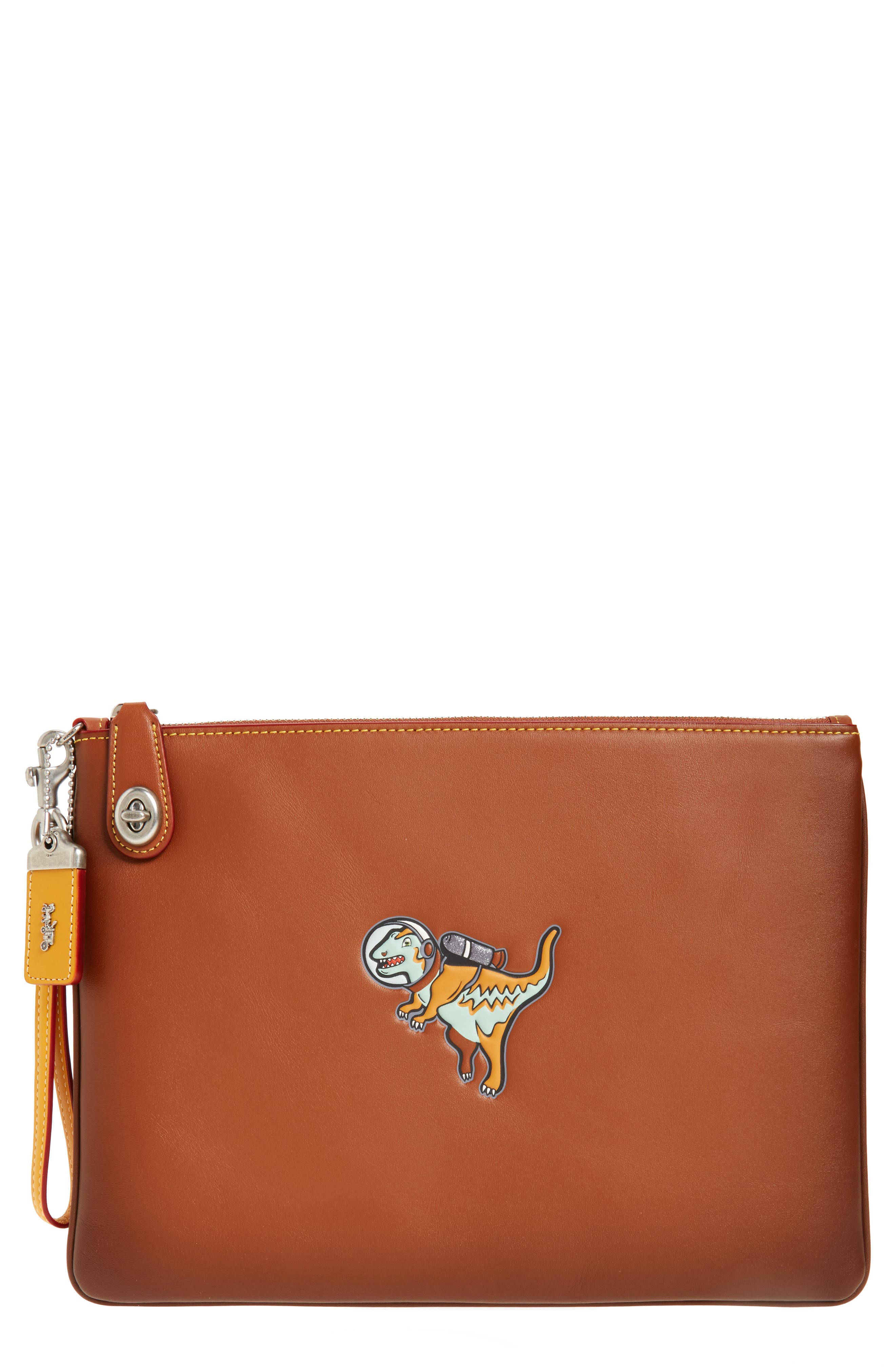 COACH 1941 Rexy Leather Wristlet