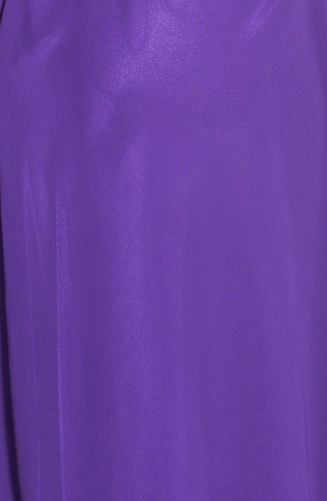 Alternate Image 3  - Faviana Colorblock Chiffon Gown