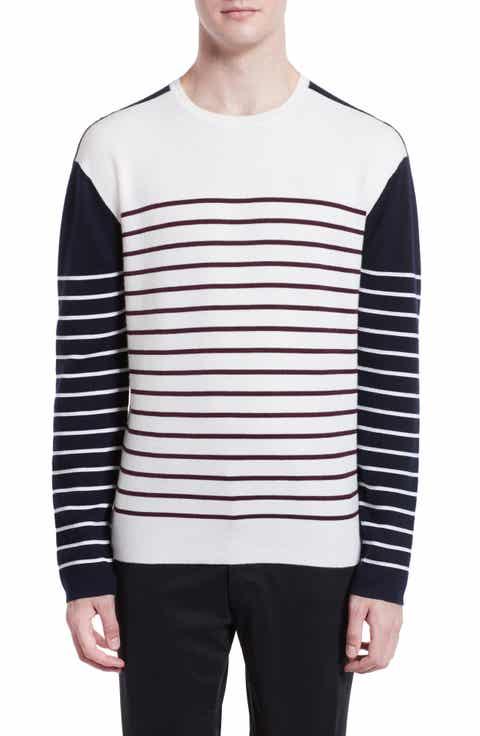 Burberry Tamworth Stripe Cashmere Blend Sweater