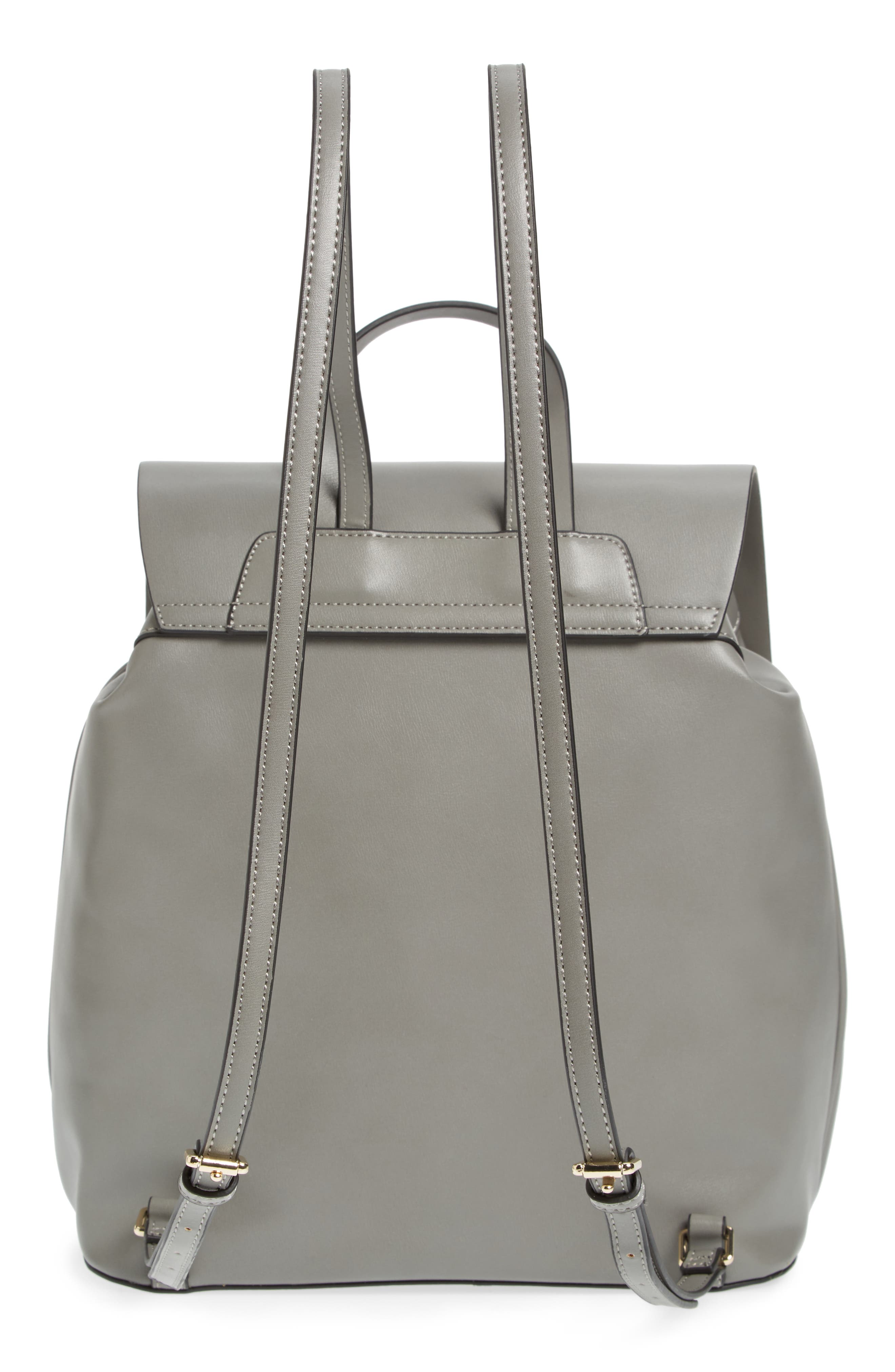 Alternate Image 3  - Topshop Barnet Faux Leather Backpack