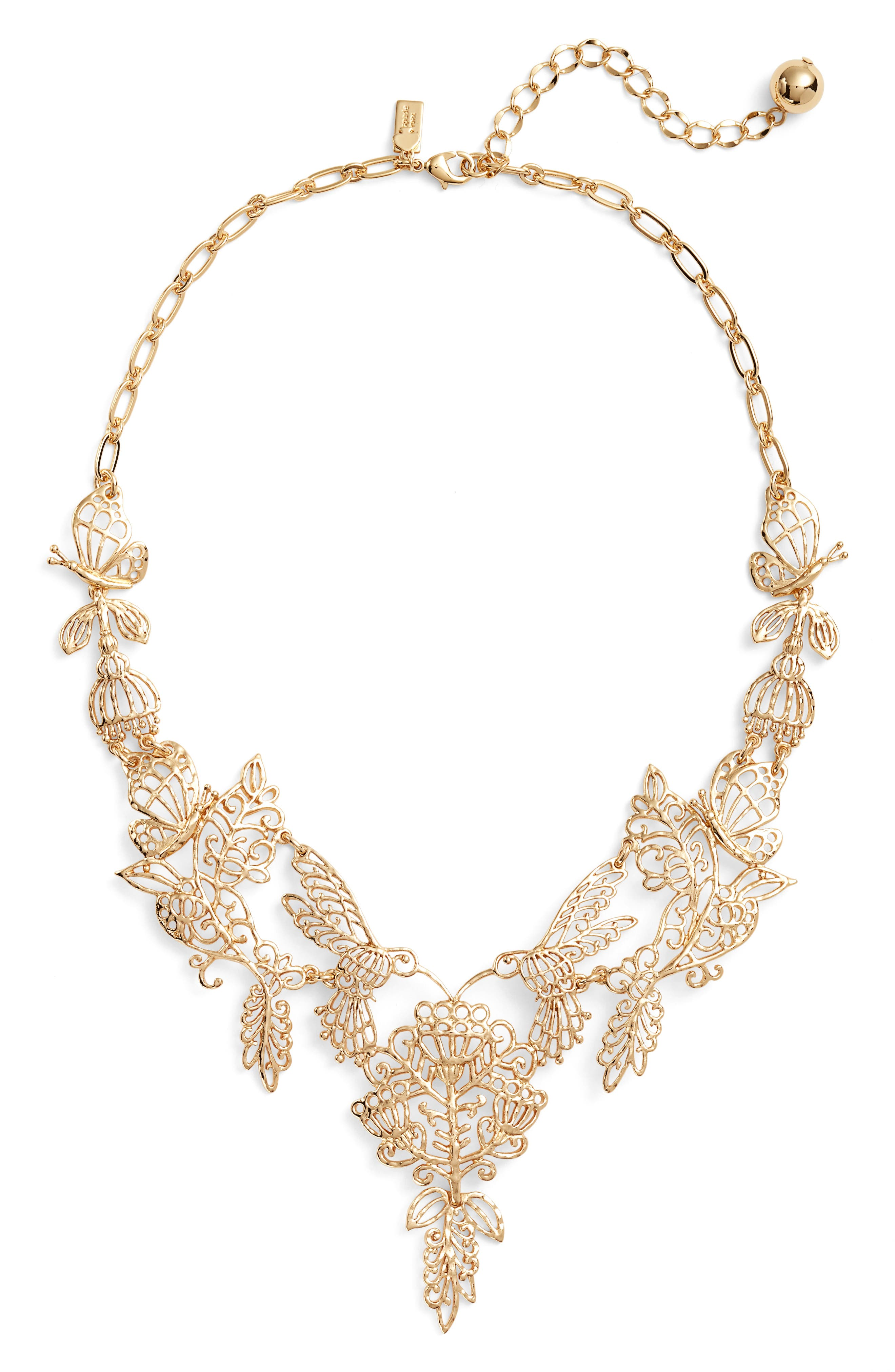 Alternate Image 1 Selected - kate spade new york golden age statement necklace