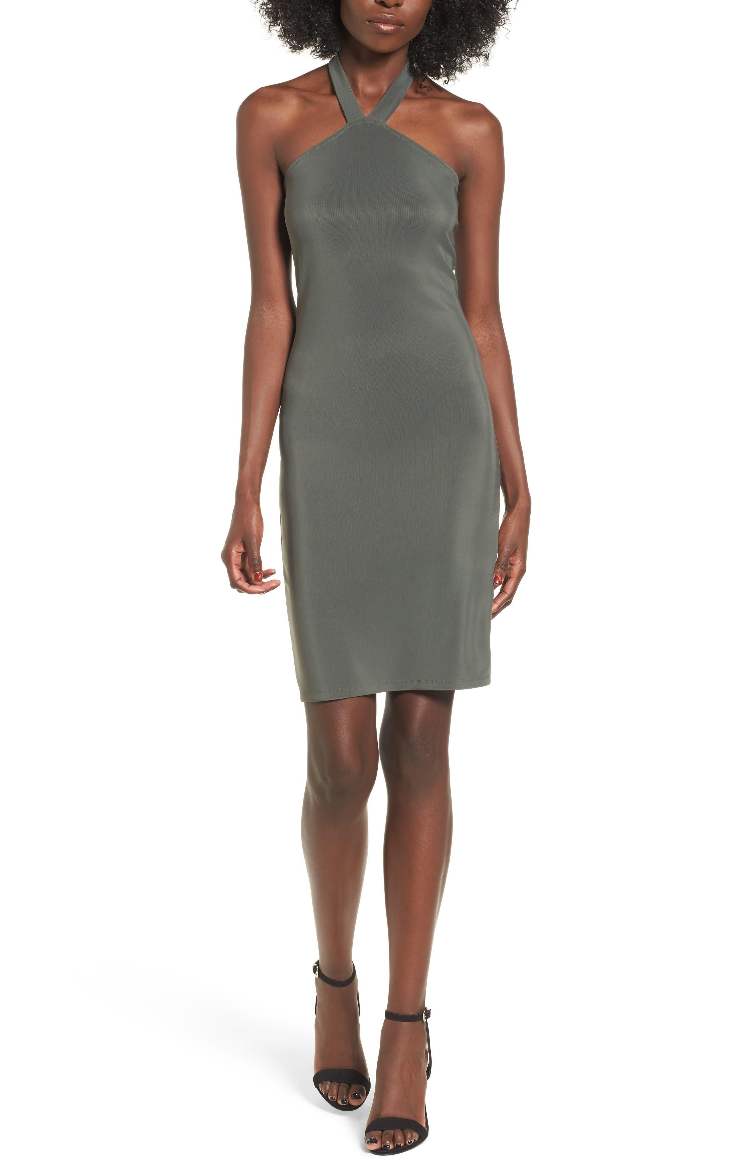 Leith Halter Body-Con Dress