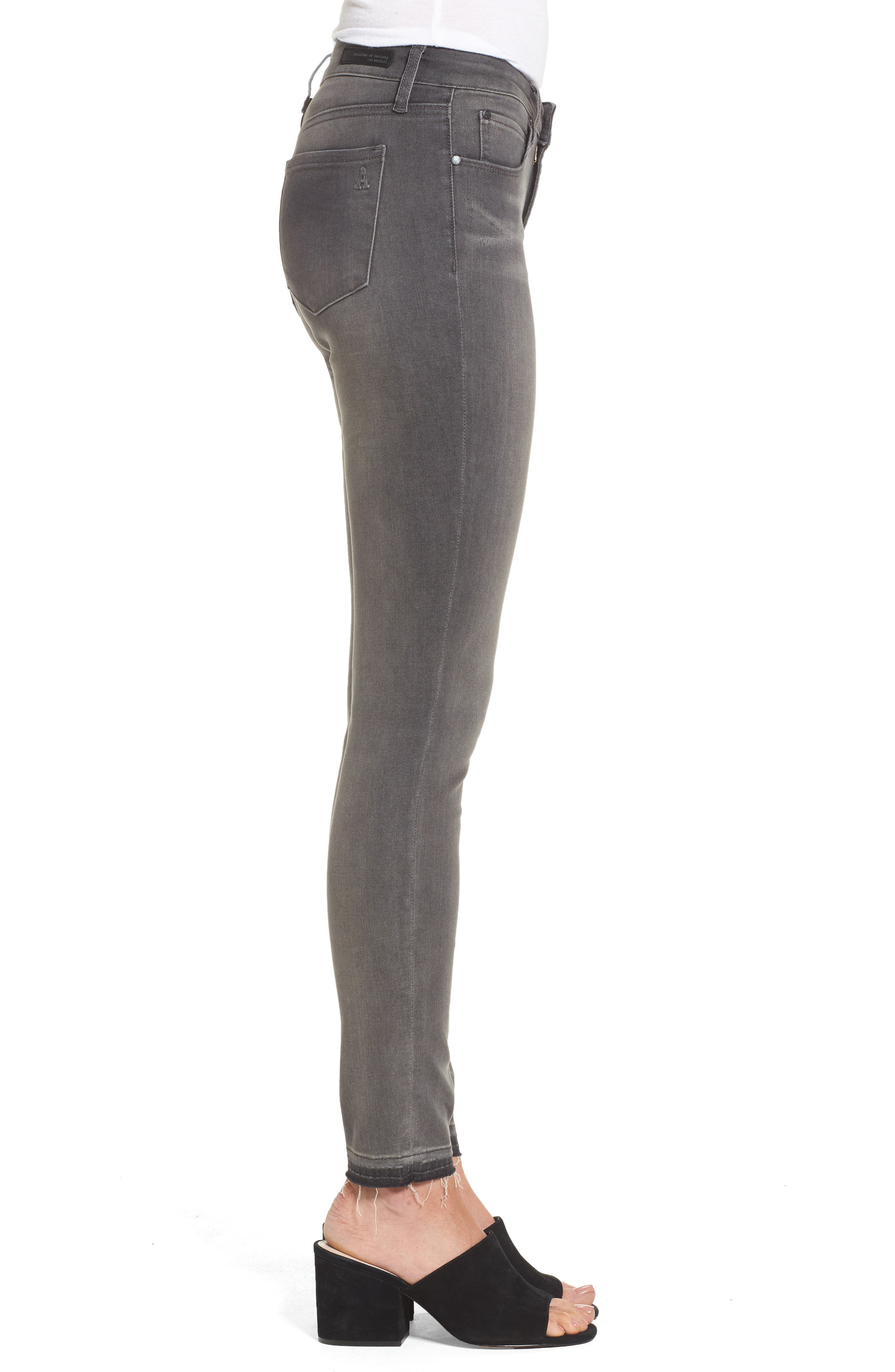 Alternate Image 3  - Articles of Society Sarah Skinny Jeans