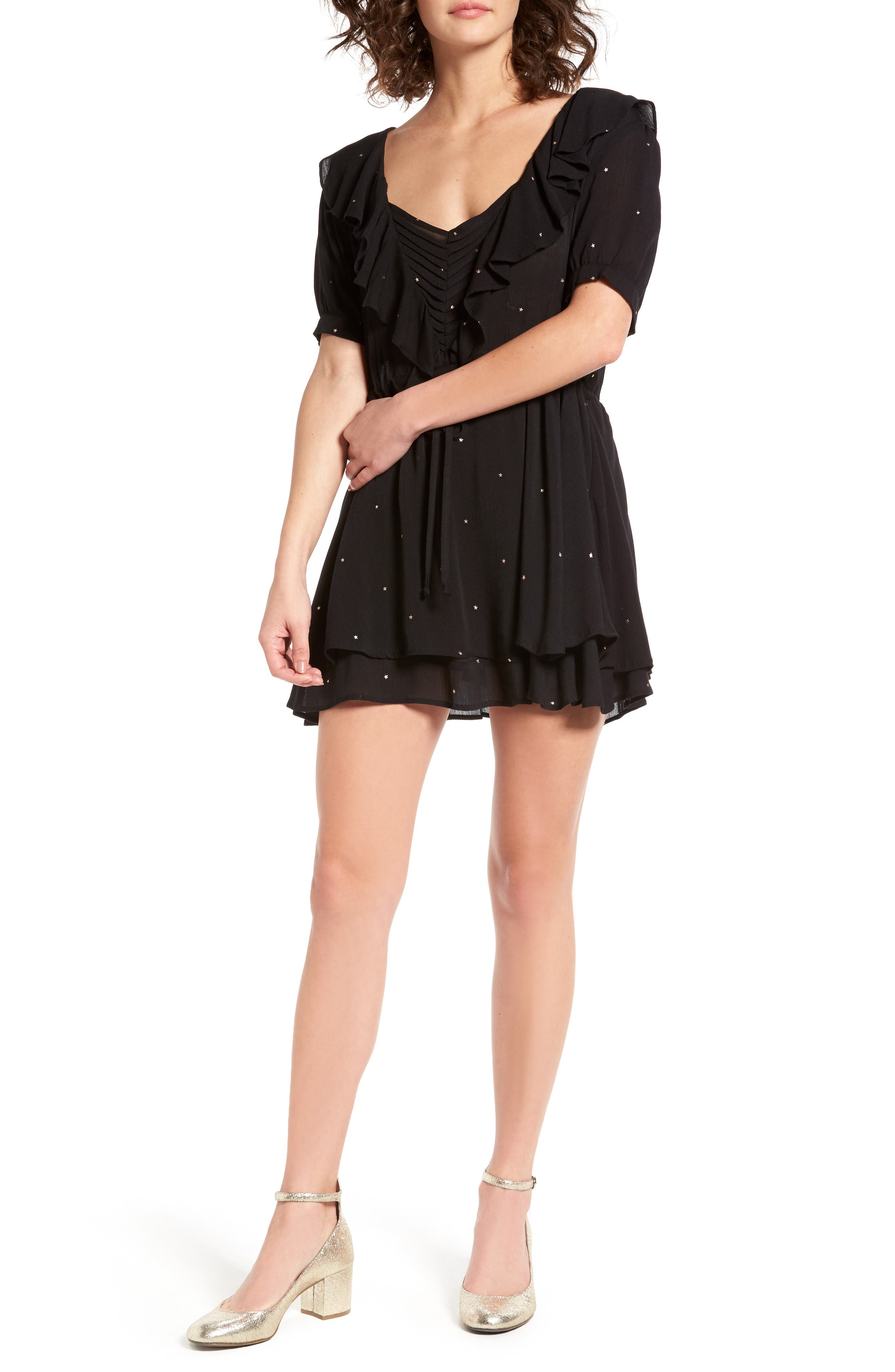 For Love & Lemons Disco Baby Minidress