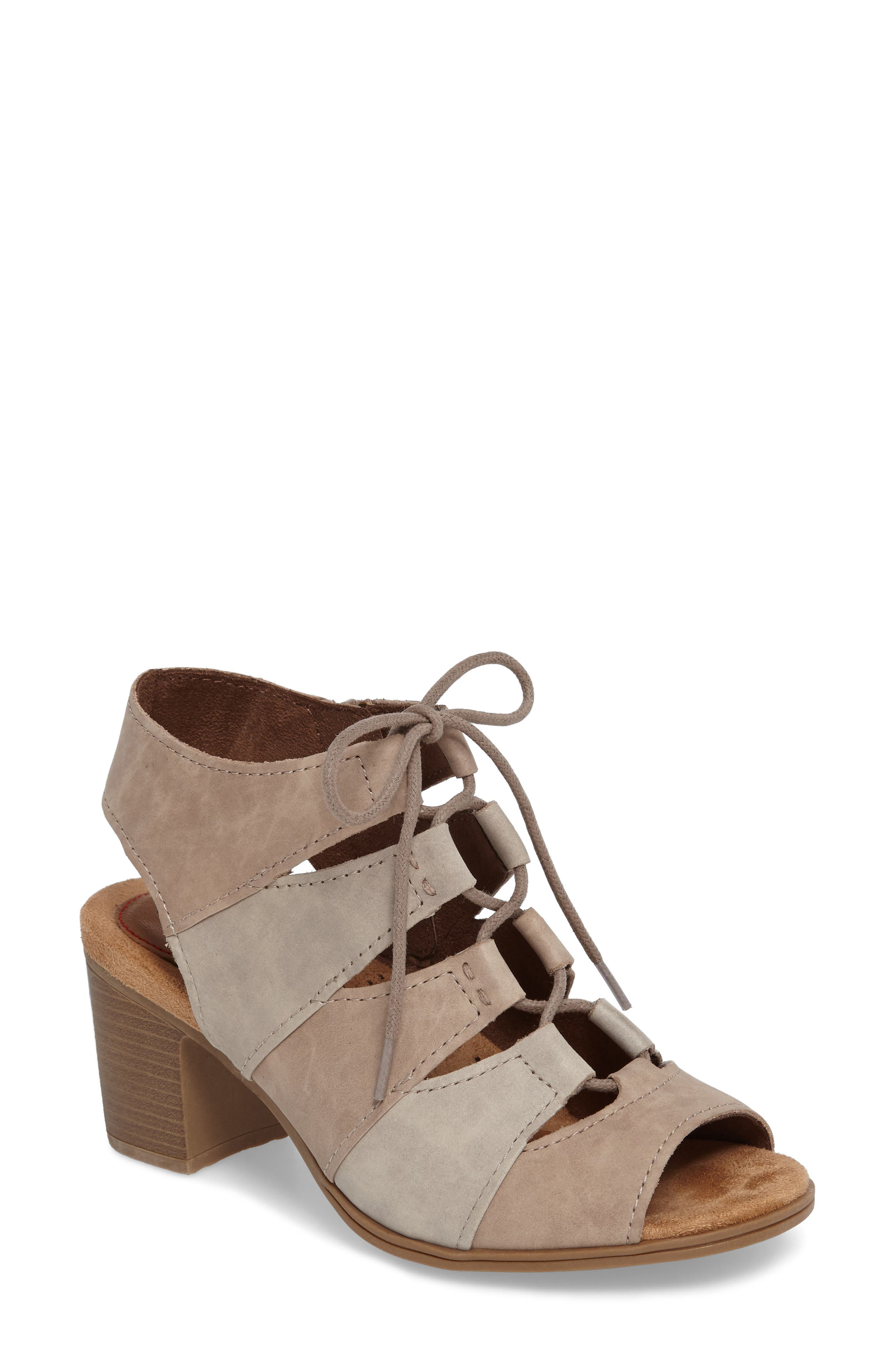 Rockport Cobb Hill Hattie Lace-Up Sandal (Women)
