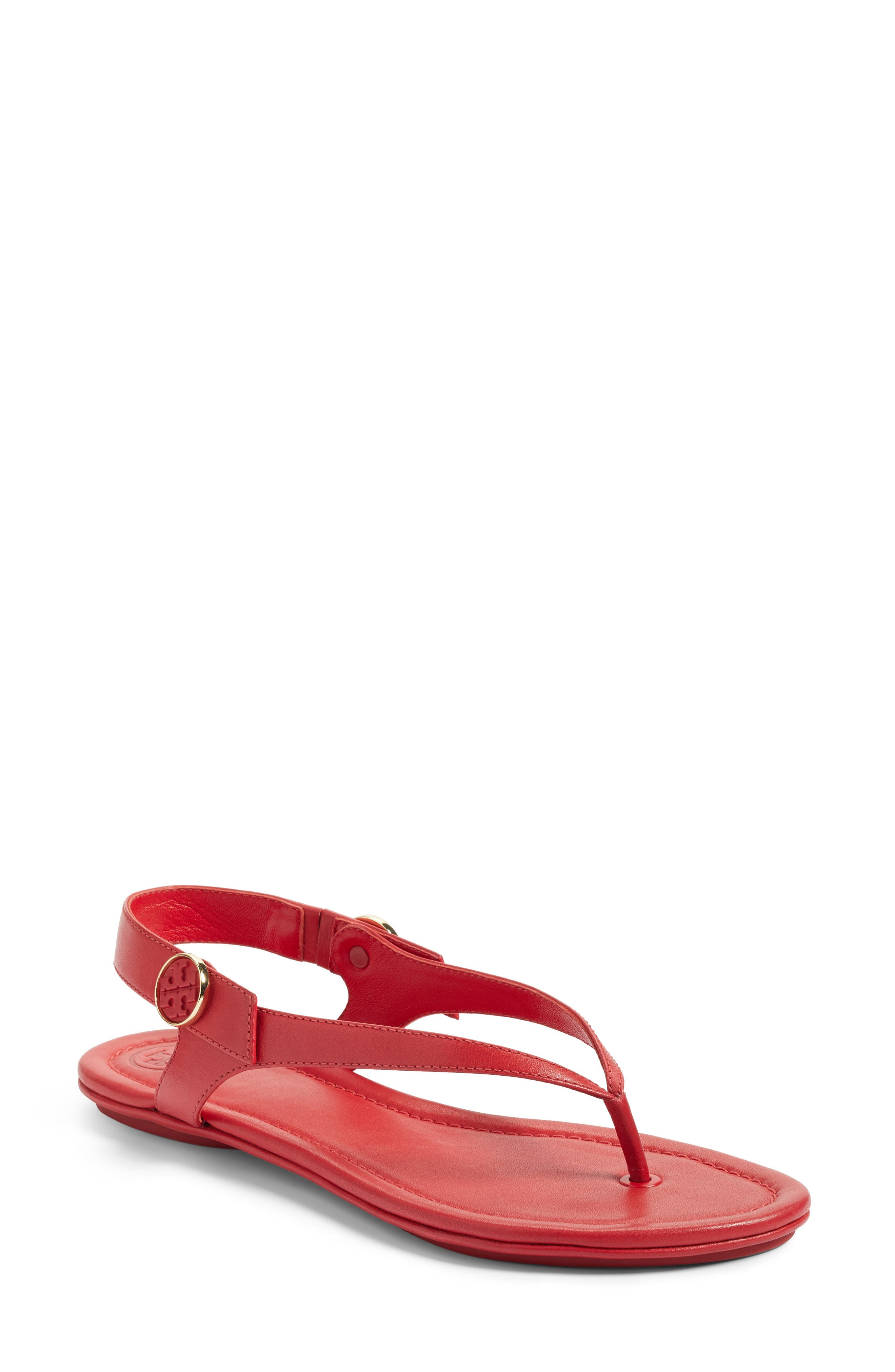 Alternate Image 1 Selected - Tory Burch Minnie Travel Thong Sandal (Women)