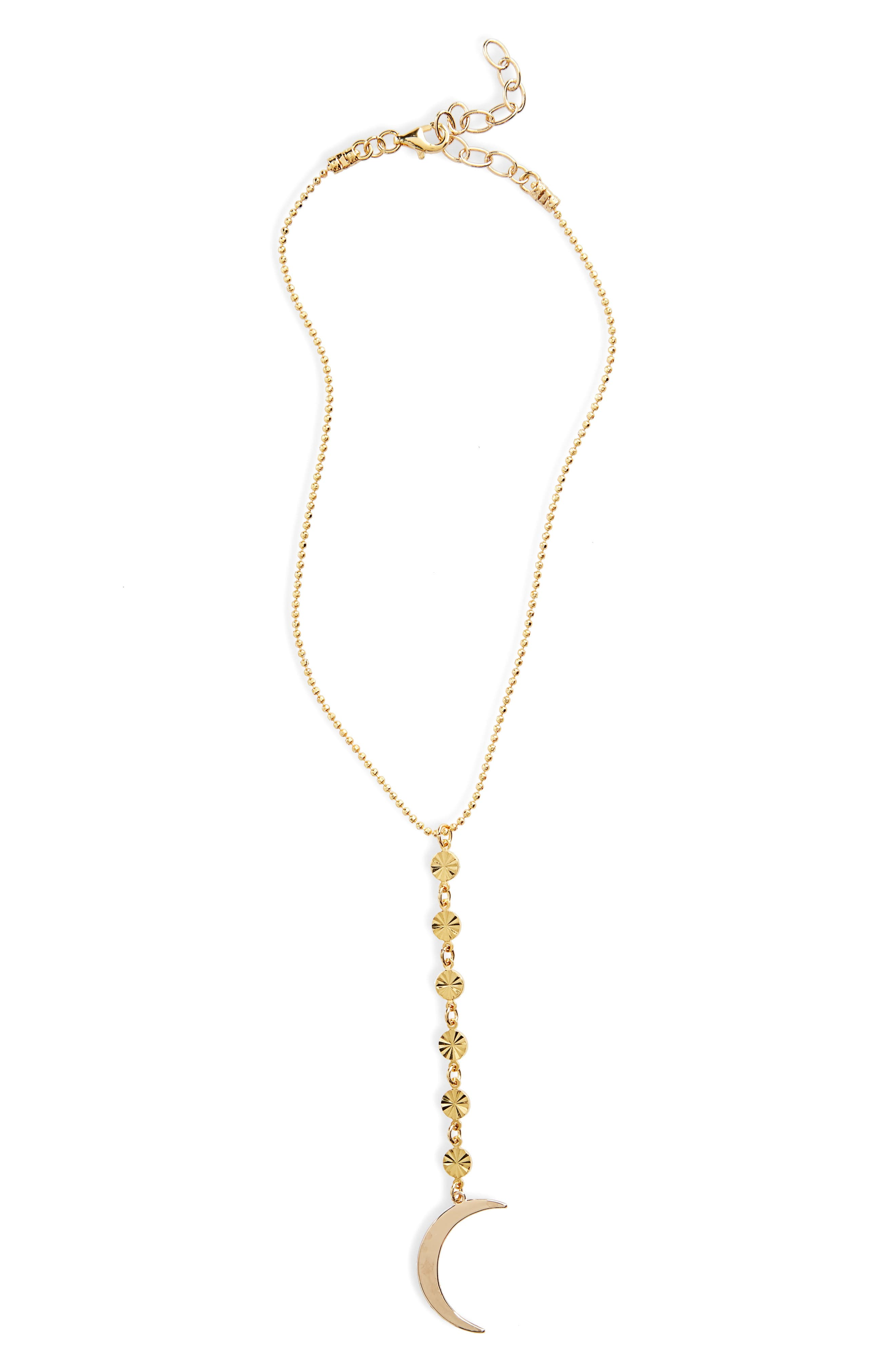 FRASIER STERLING To the Moon Y-Necklace