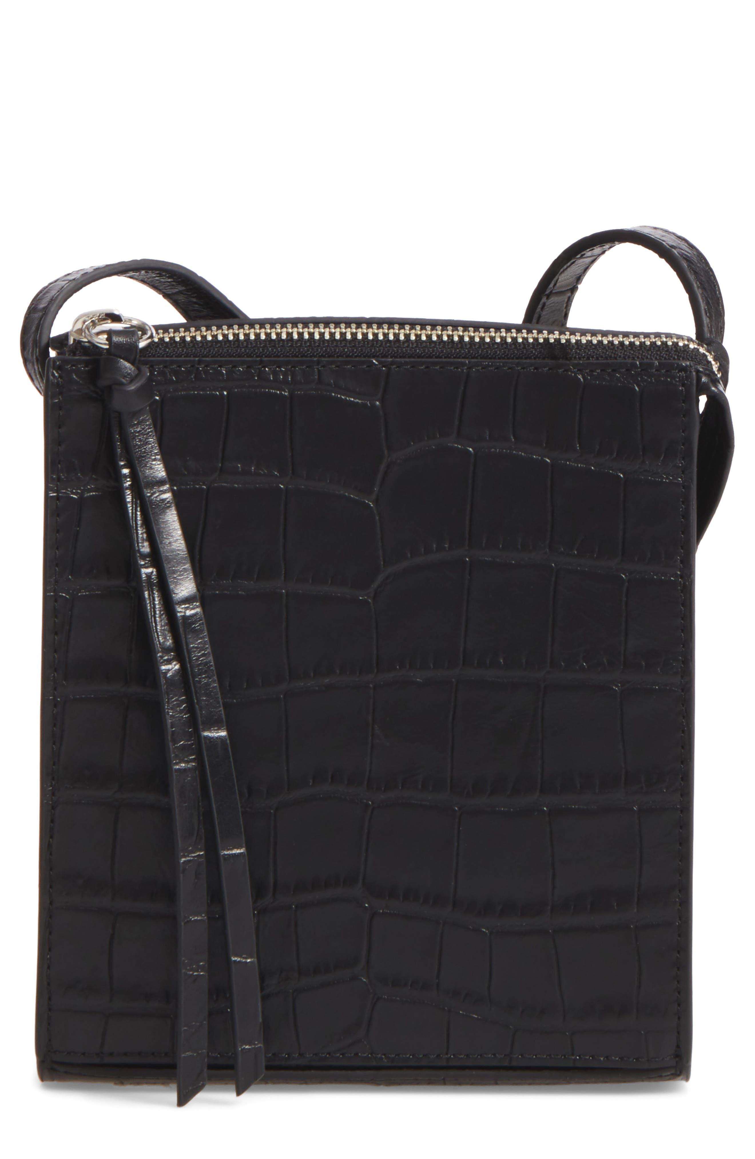 Elizabeth and James Sara Leather Crossbody Bag