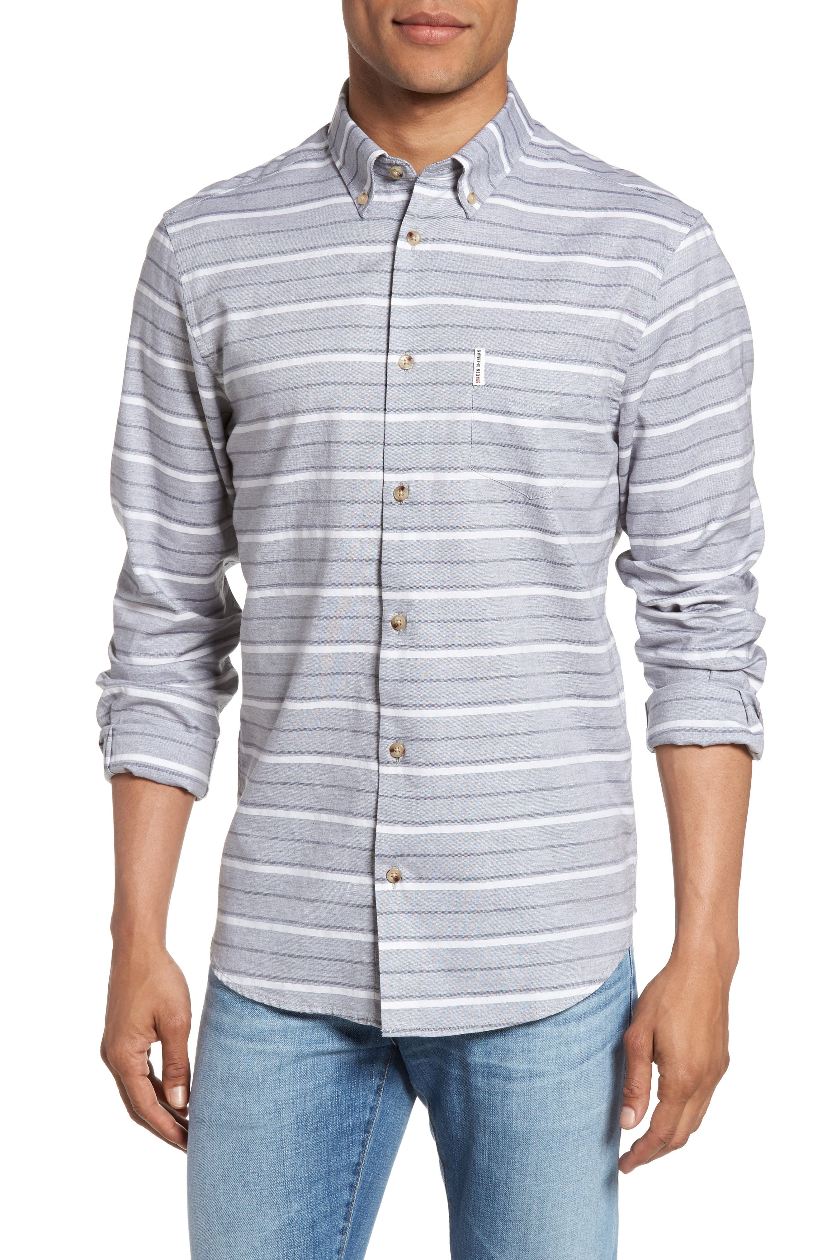 Ben Sherman Tipping Horizontal Stripe Shirt