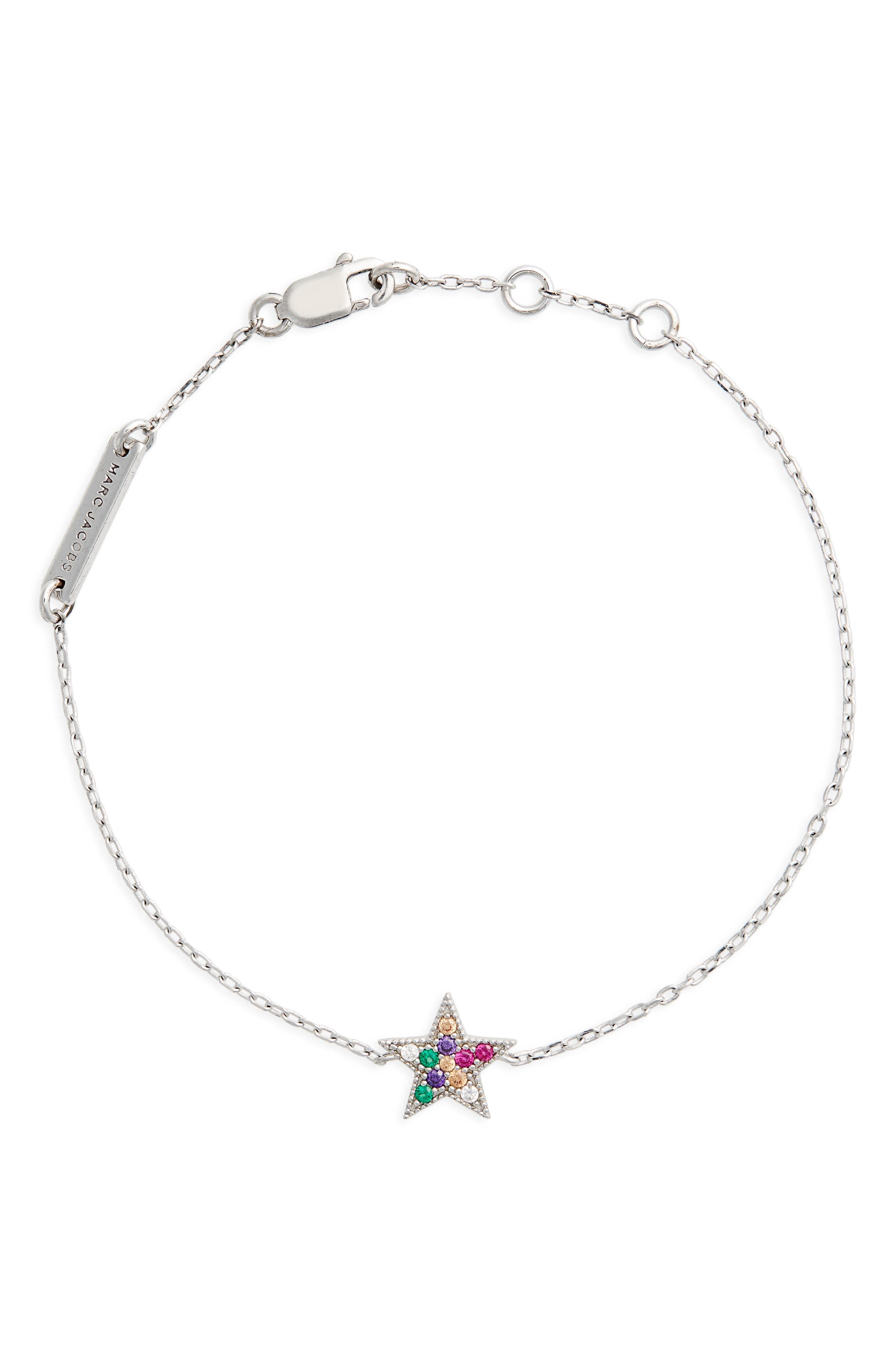 MARC JACOBS Rainbow Star Line Bracelet