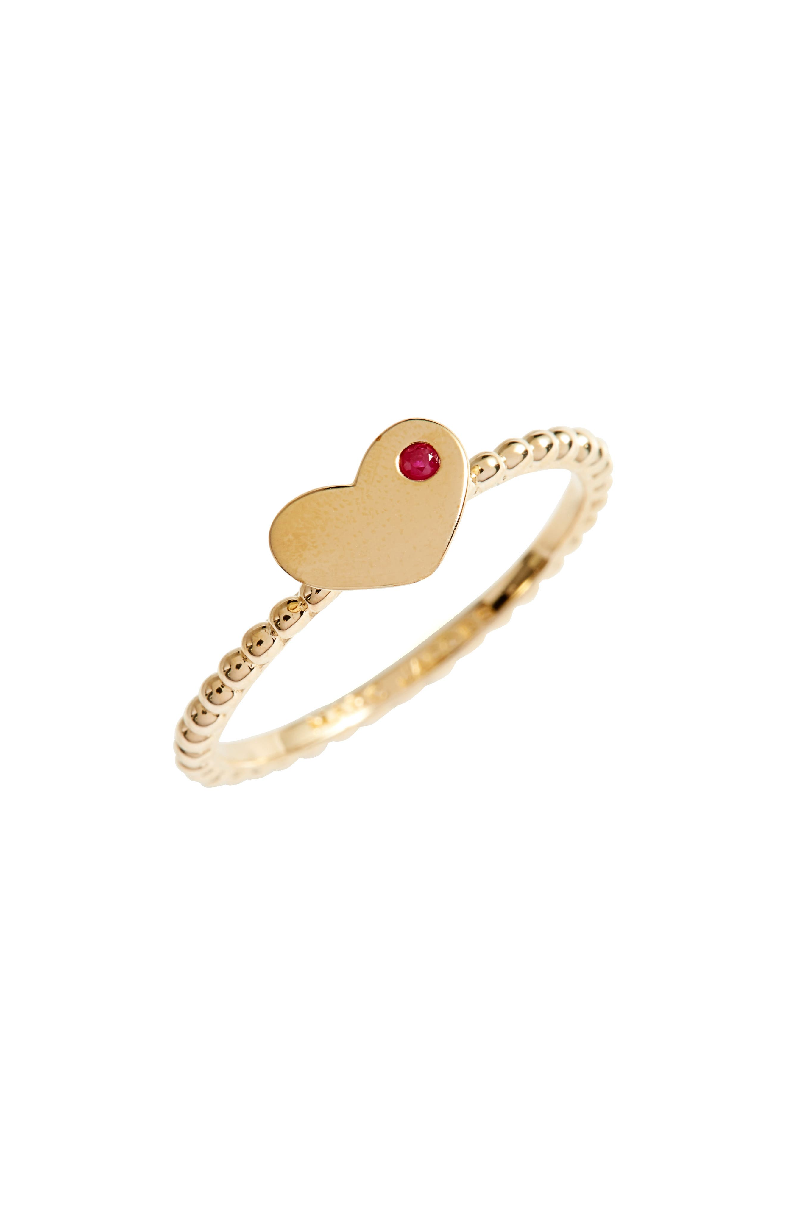 MARC JACOBS Heart Stack Ring