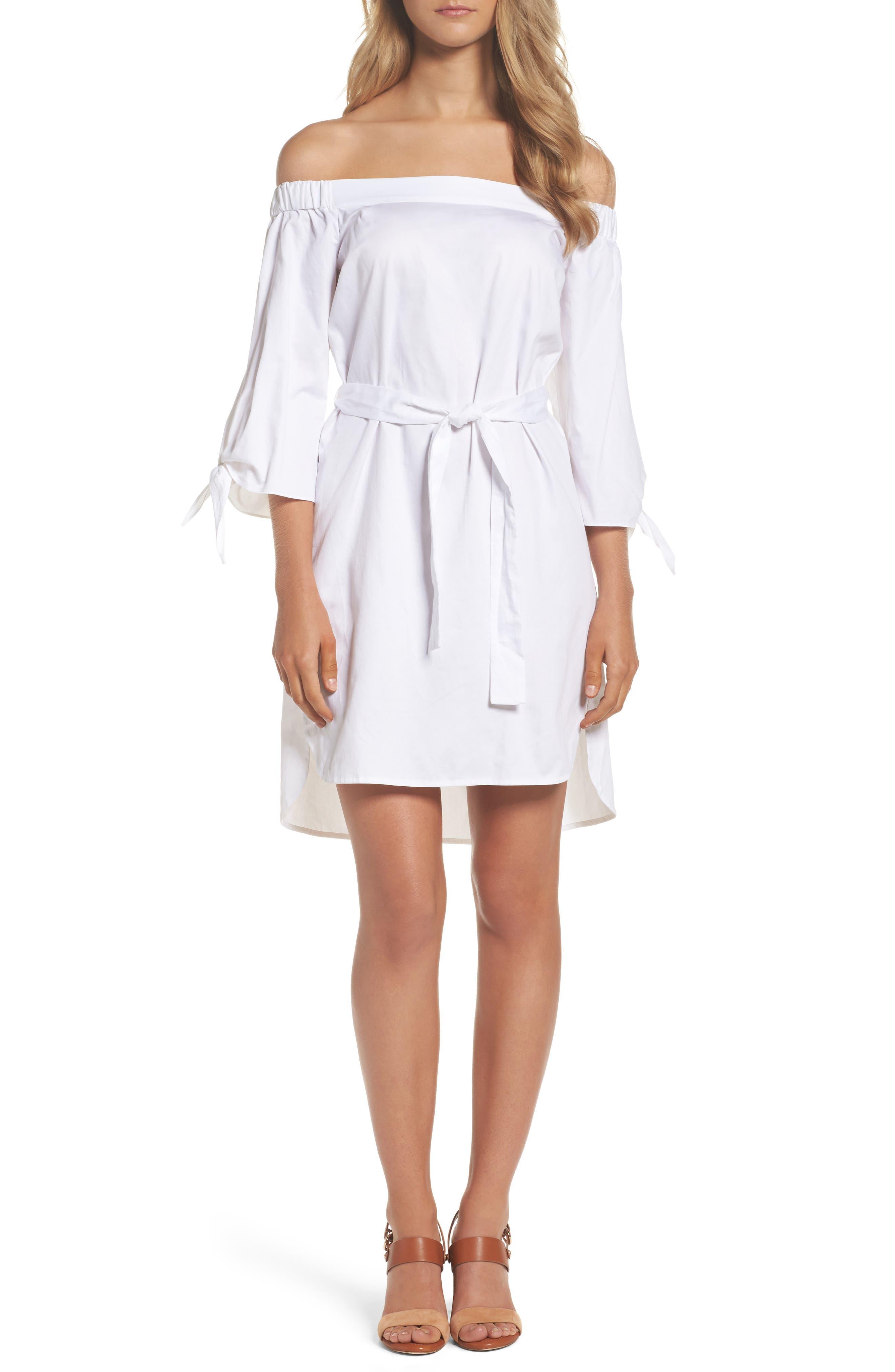 Bardot Off the Shoulder Dress