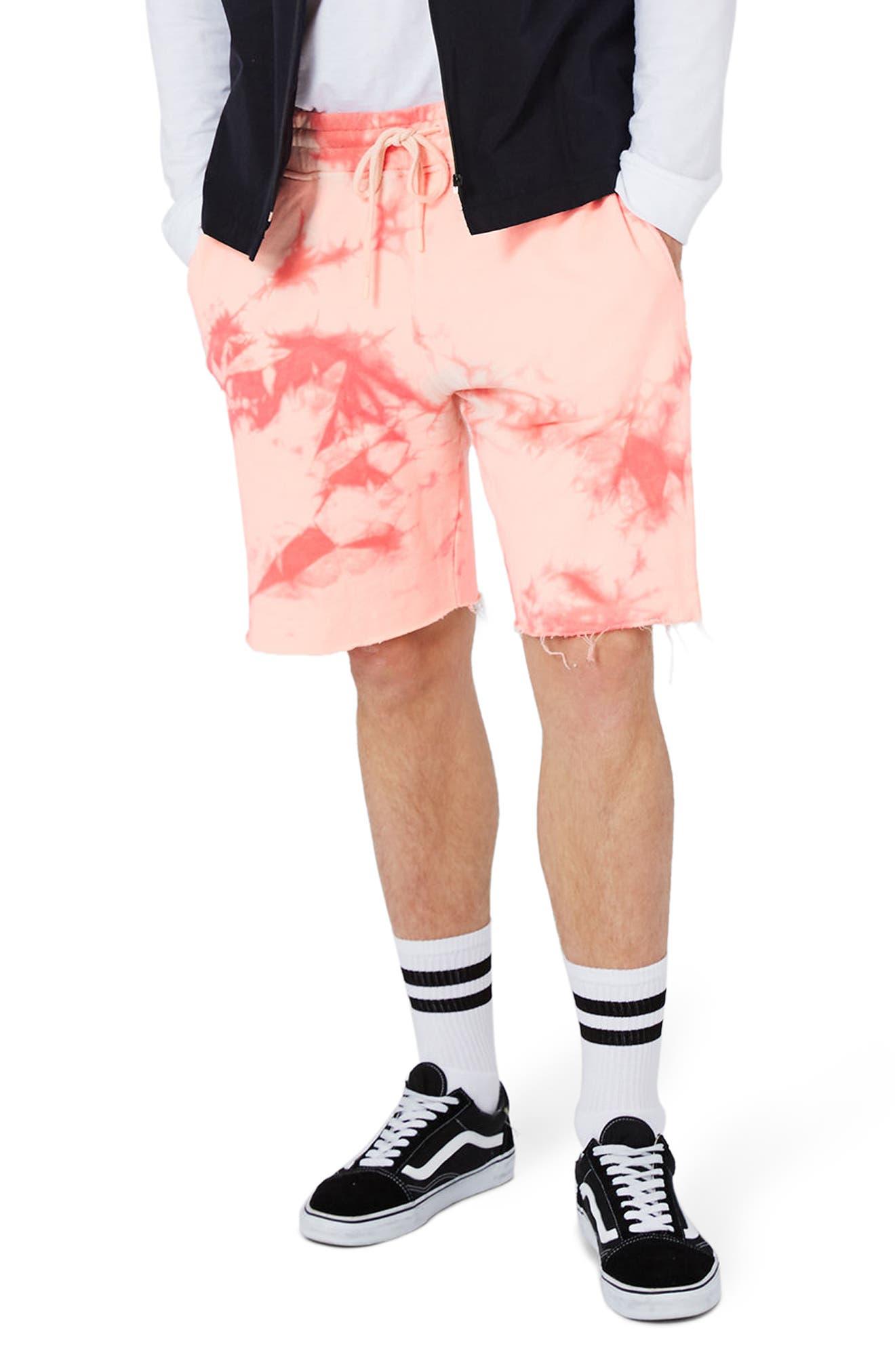 Topman Tie Dye Shorts