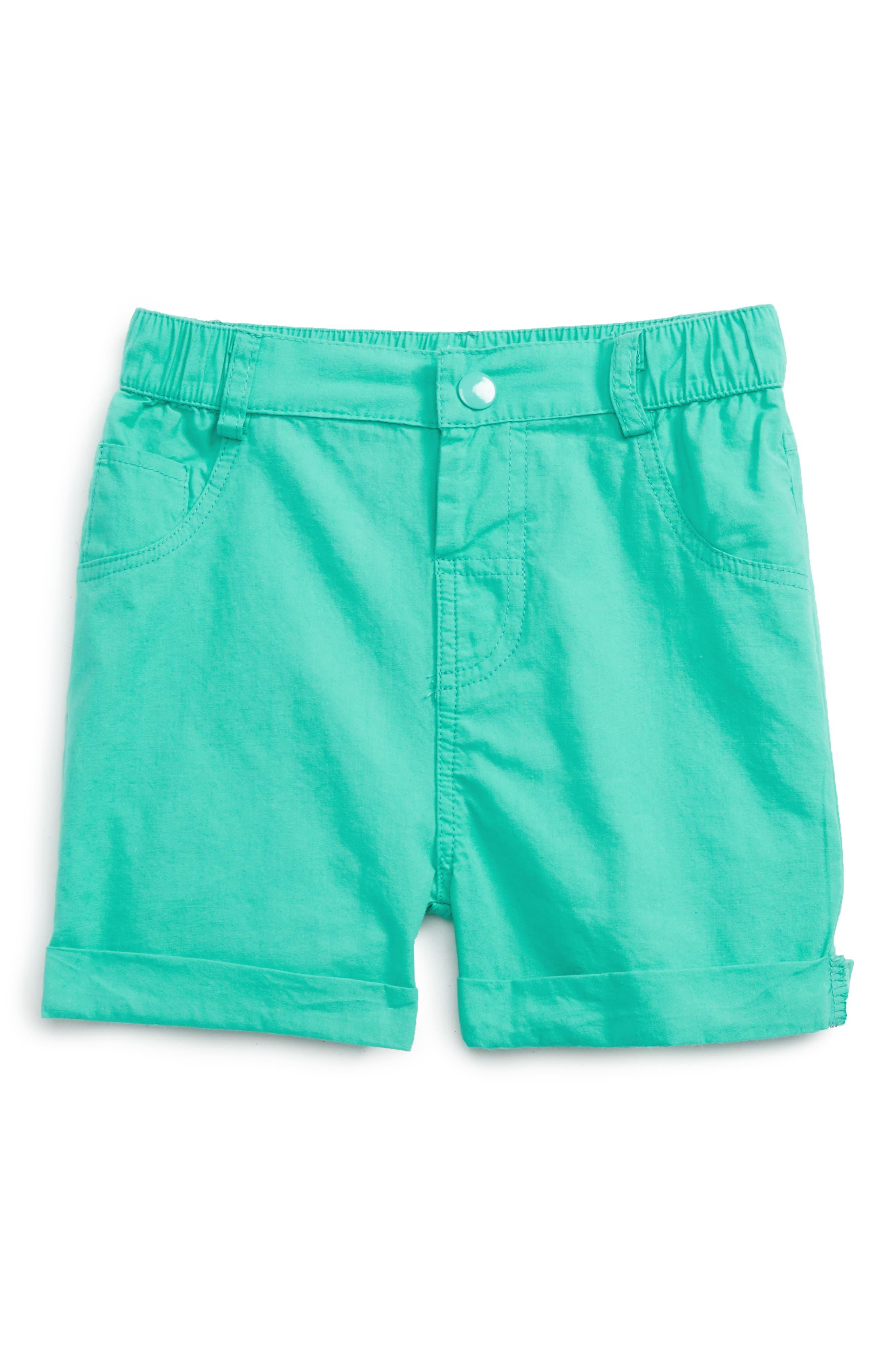 Rosie Pope Cuffed Poplin Shorts (Baby)