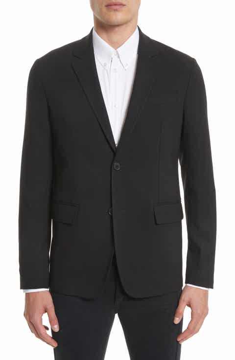 Givenchy Star Tape Stretch Wool Jacket