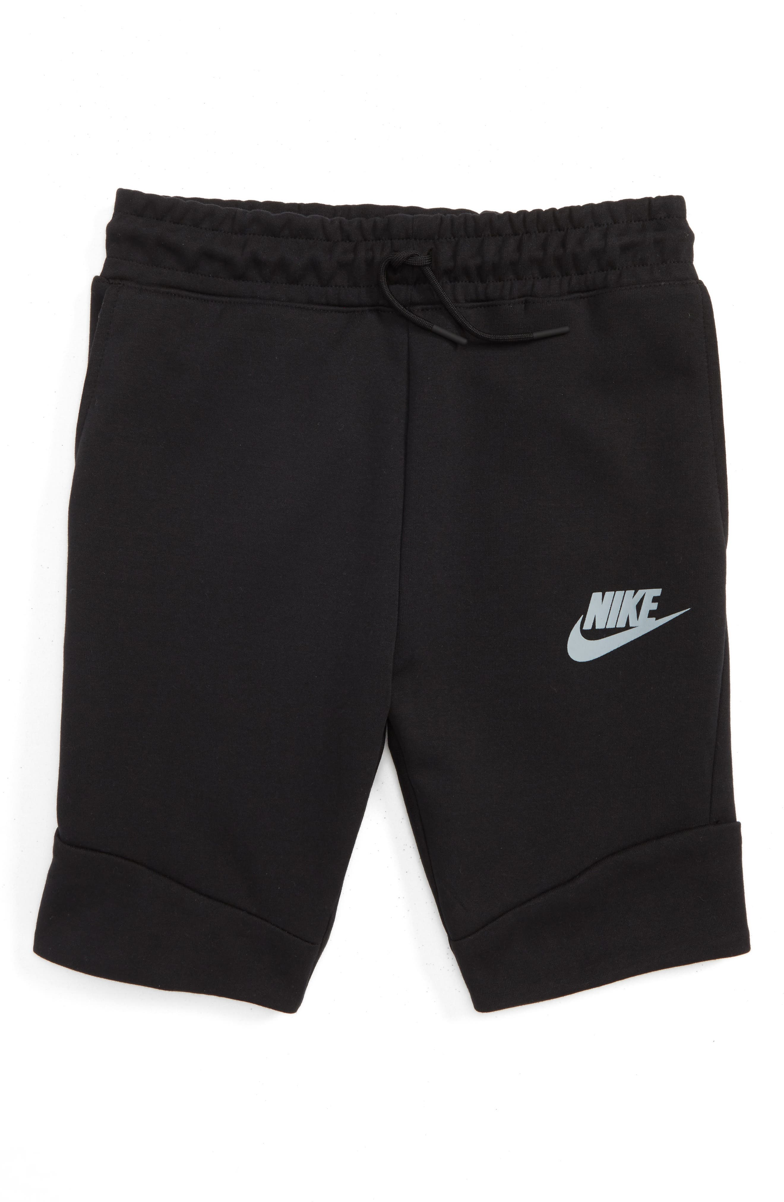 Nike 'Tech Fleece' Shorts (Little Boys & Big Boys)