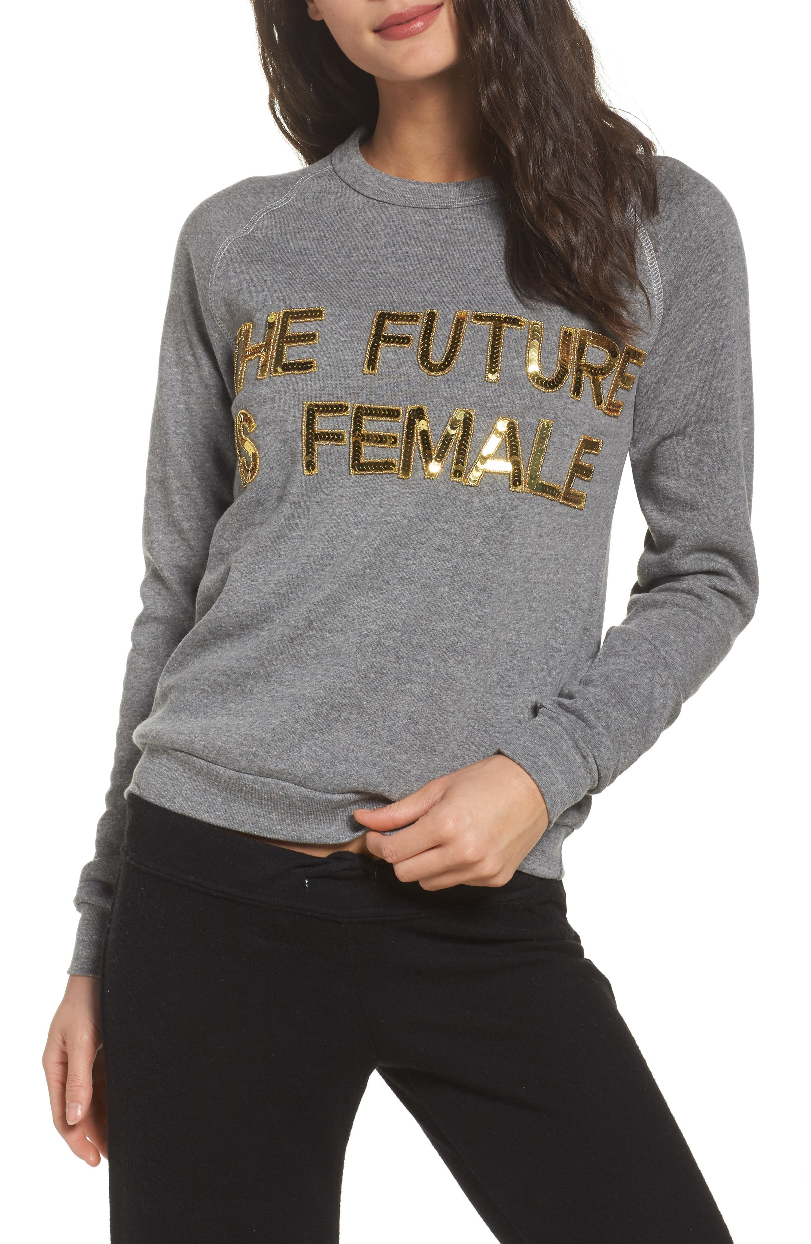 Bow & Drape The Future is Female Lounge Sweatshirt