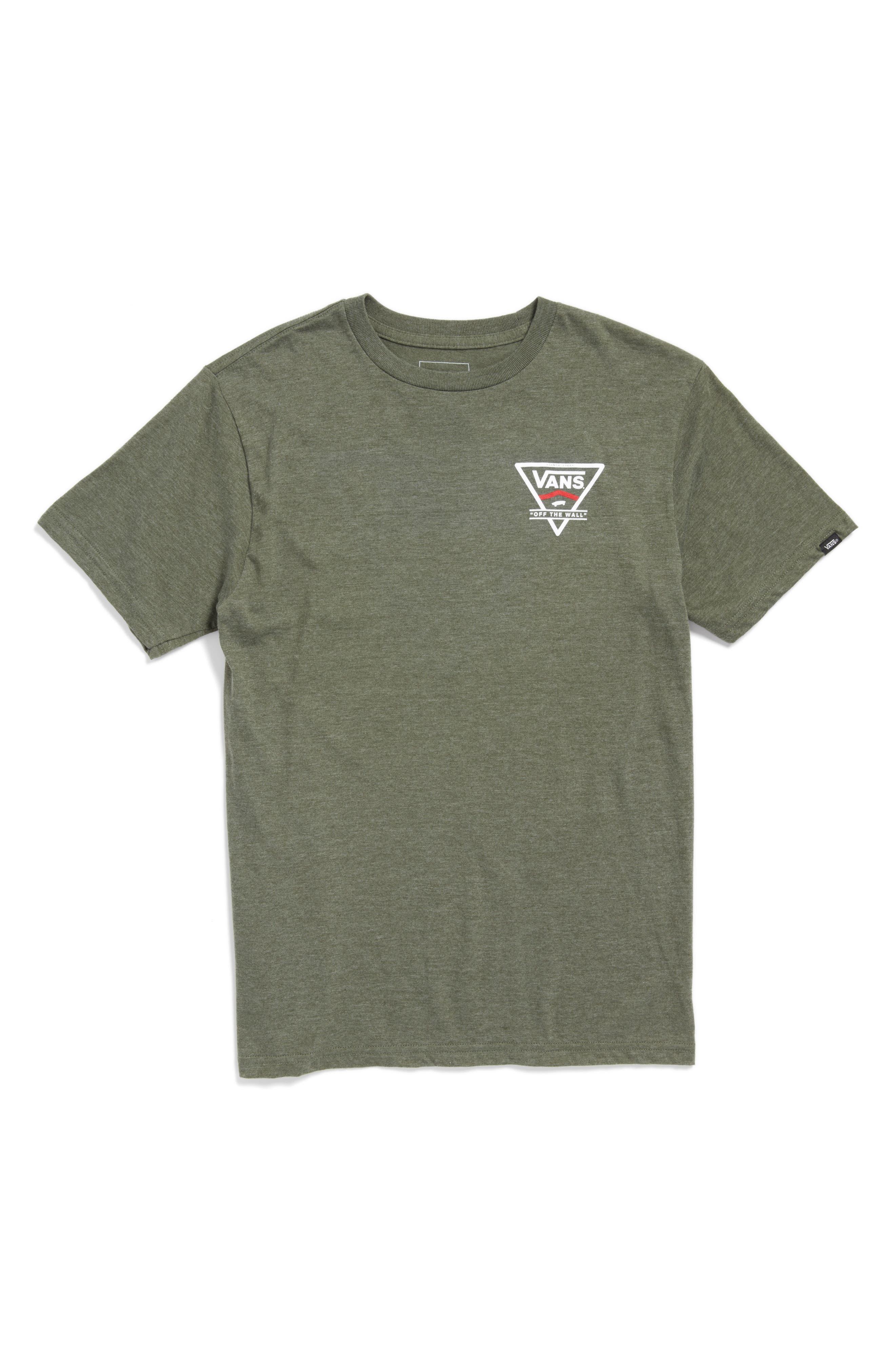 Vans Classic Stripe Graphic T-Shirt (Big Boys)