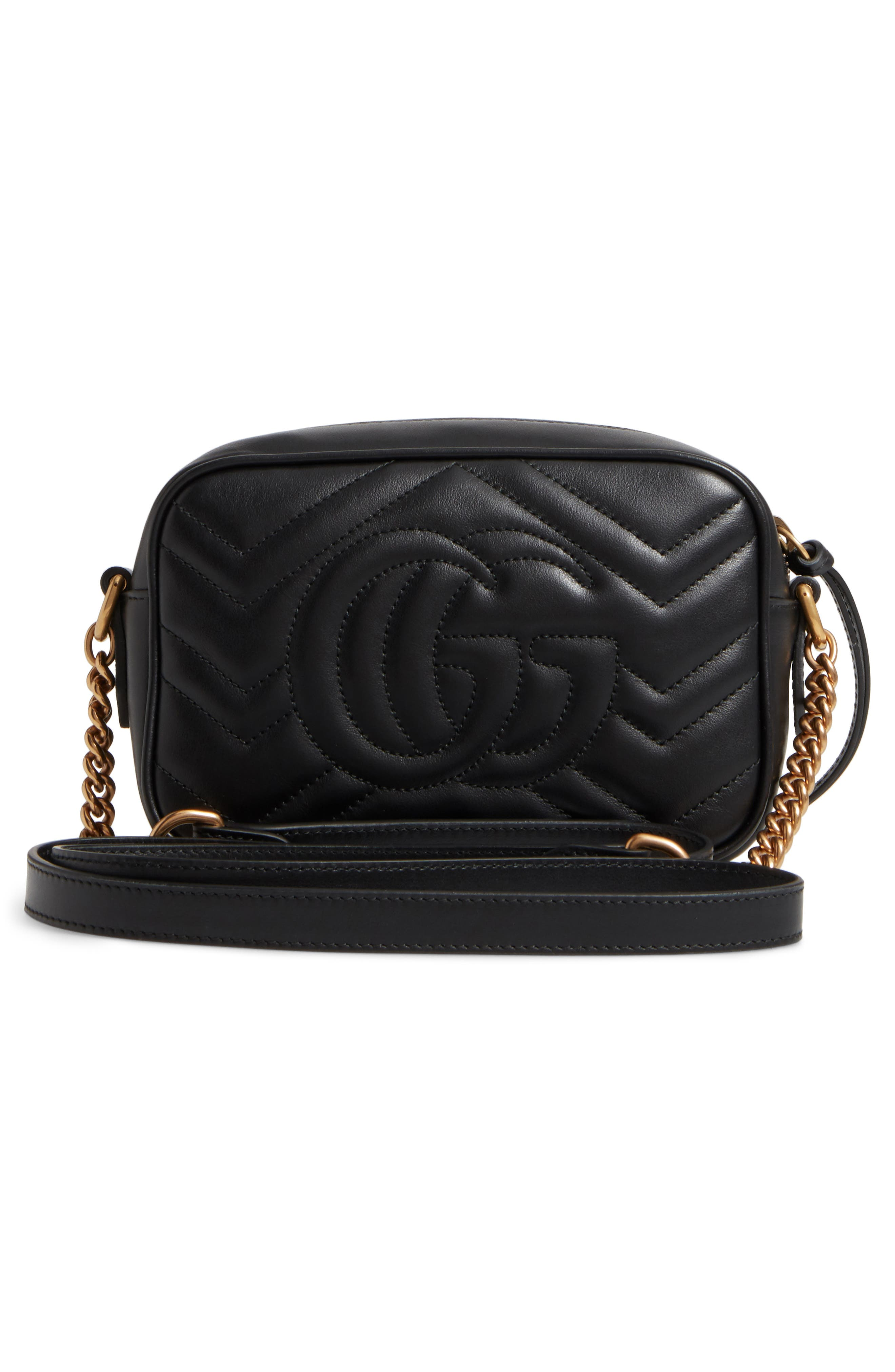 Alternate Image 3  - Gucci GG Marmont 2.0 Matelassé Leather Shoulder Bag