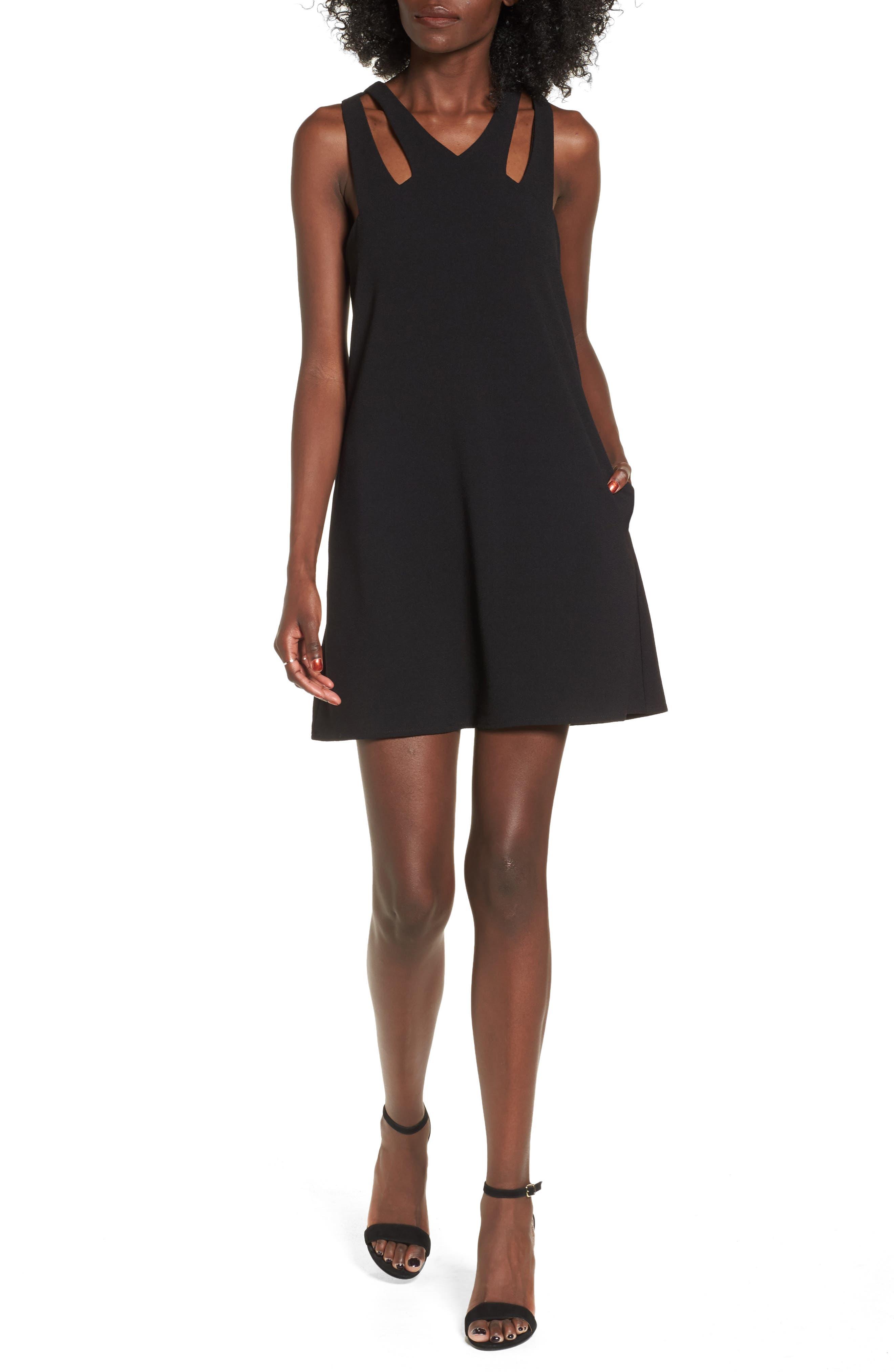 Speechless Cutout Neckline Dress