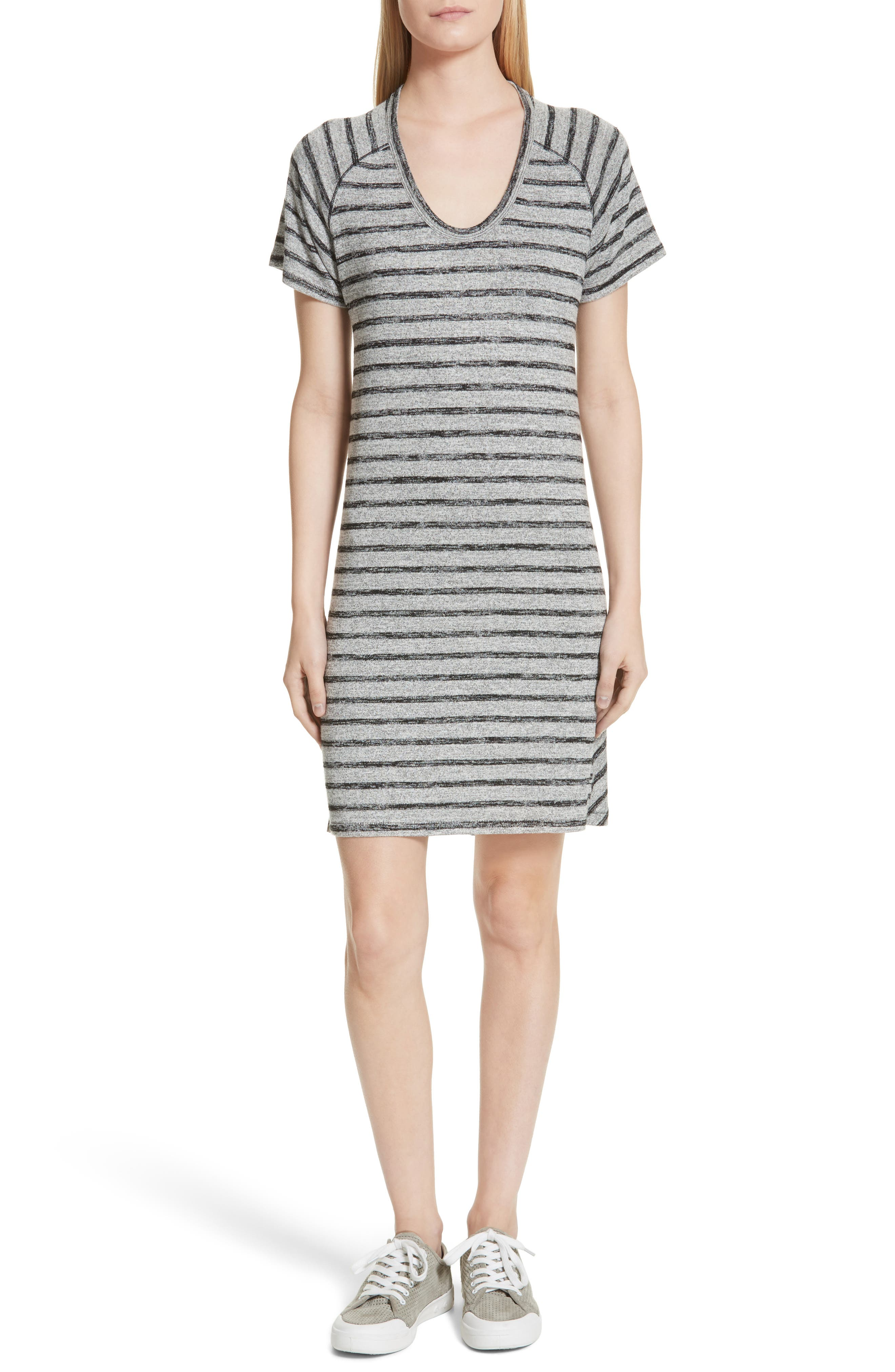 rag & bone/JEAN Stripe T-Shirt Dress