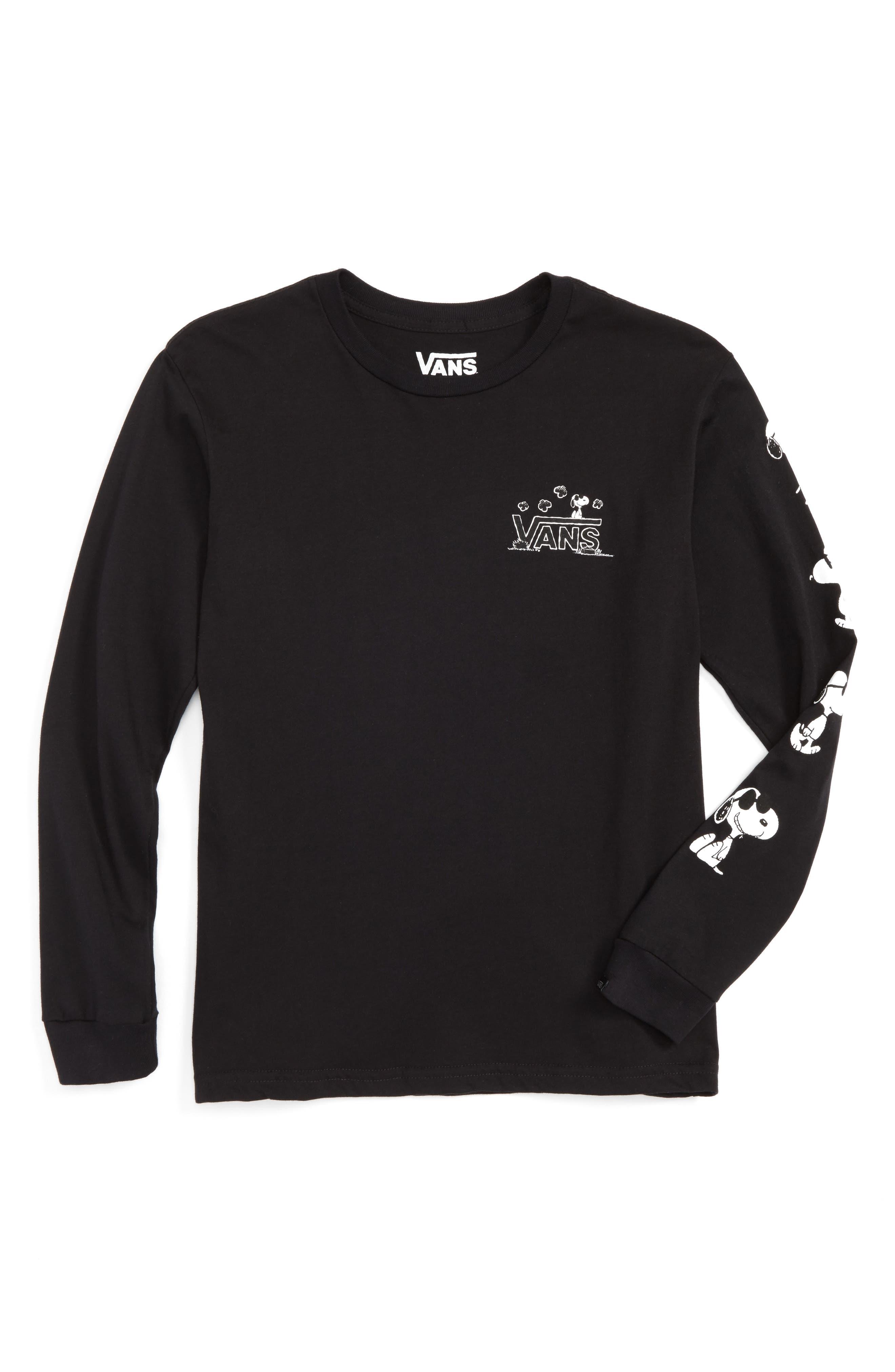 Vans x Peanuts T-Shirt (Big Boys)