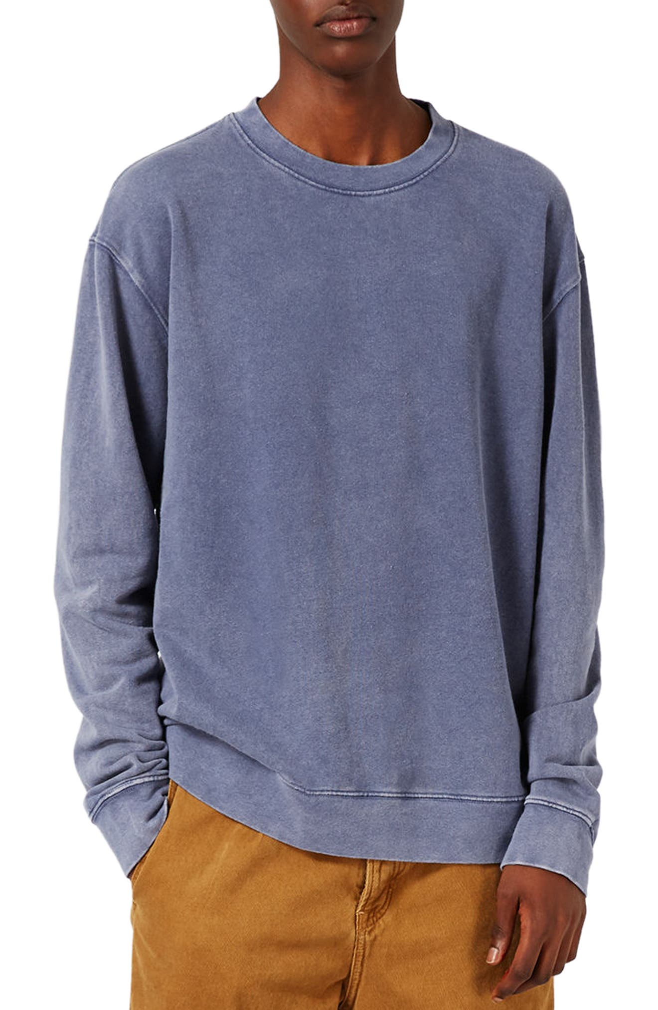 Topman Washed Sweatshirt