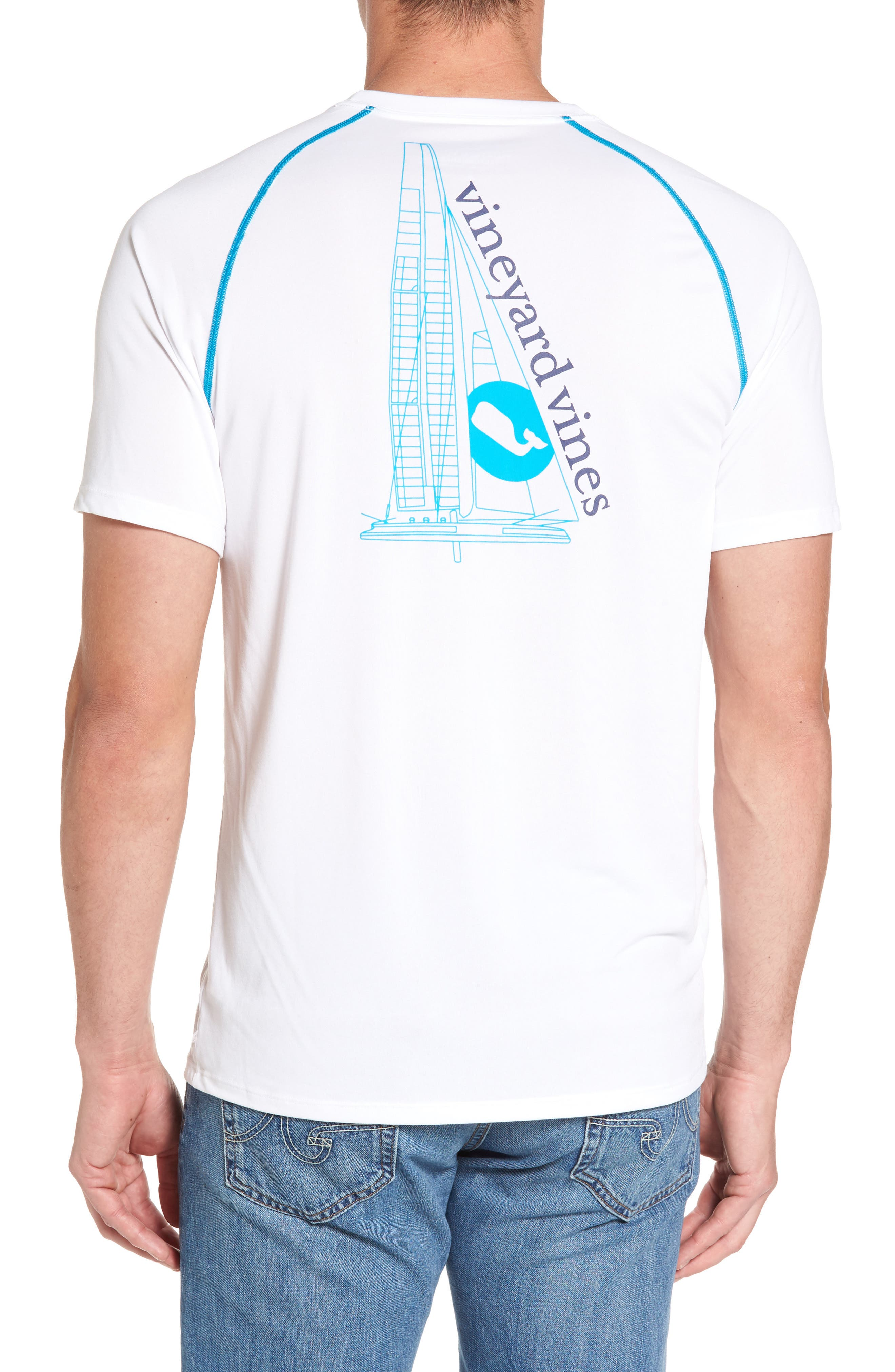 Vineyard Vines Catamaran Performance T-Shirt