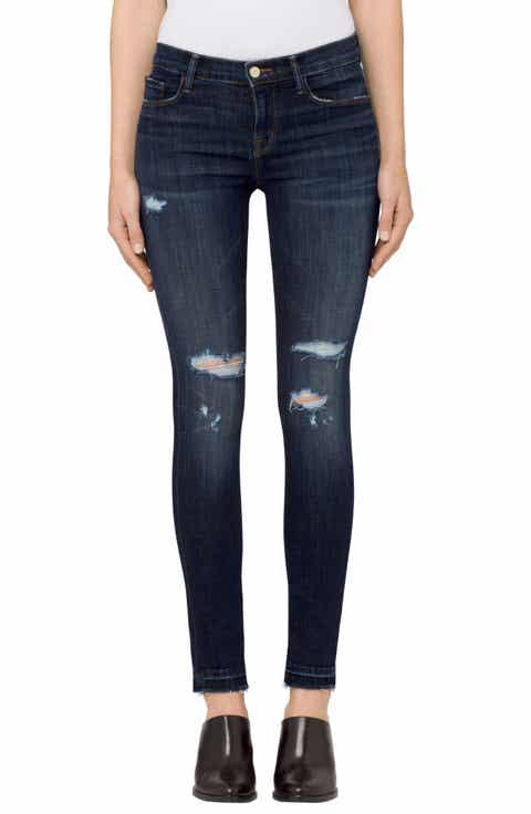 Green Skinny Jeans for Women | Nordstrom
